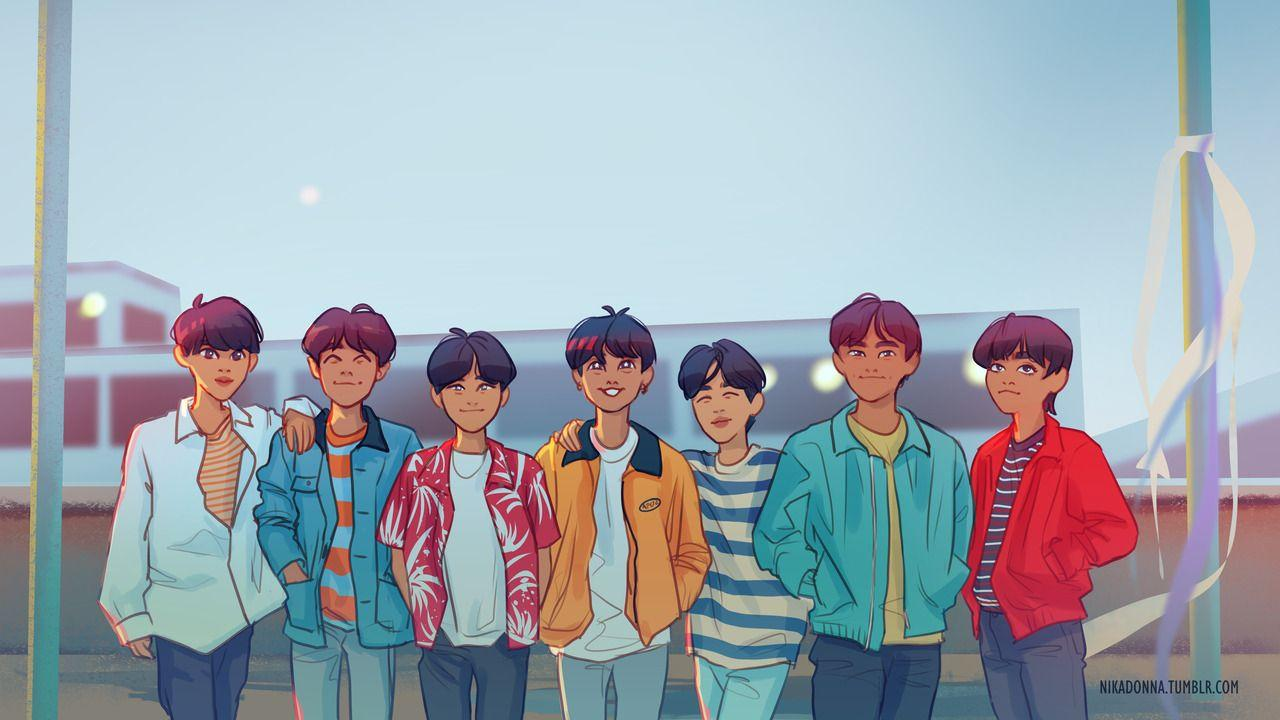 Bts Desktop Wallpapers Wallpaper Cave