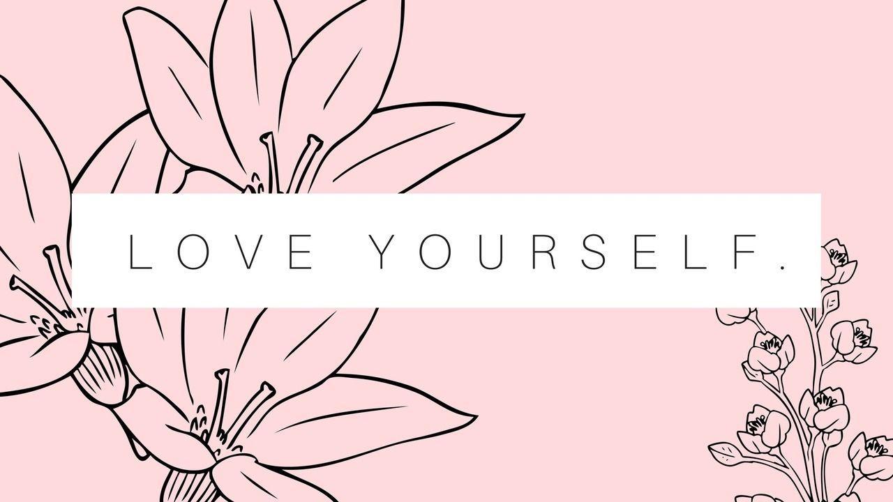 Bts desktop wallpapers wallpaper cave - Love yourself wallpaper hd ...