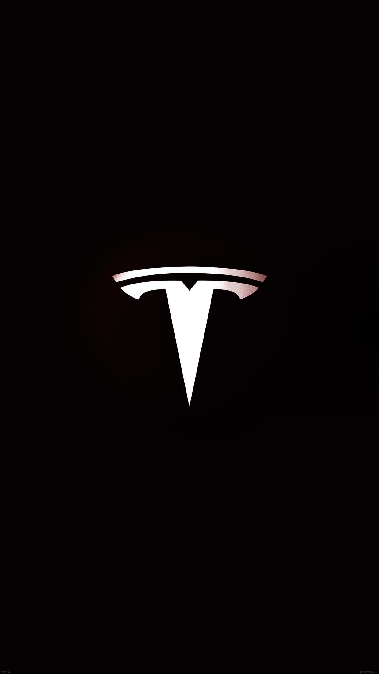 Tesla Logo Wallpapers Wallpaper Cave