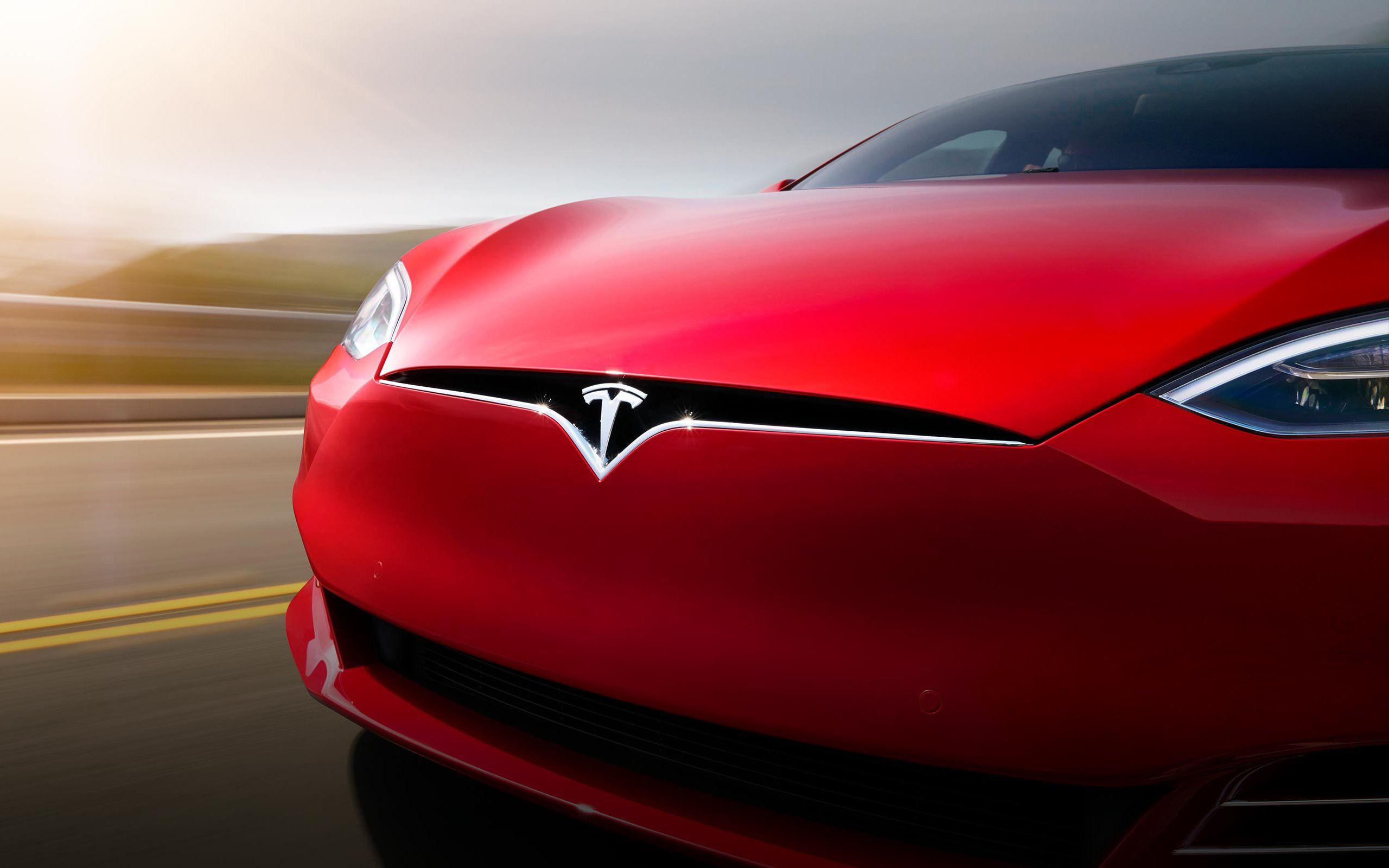 Tesla Car Up Close Wallpaper Background 62153 2560x1600 px