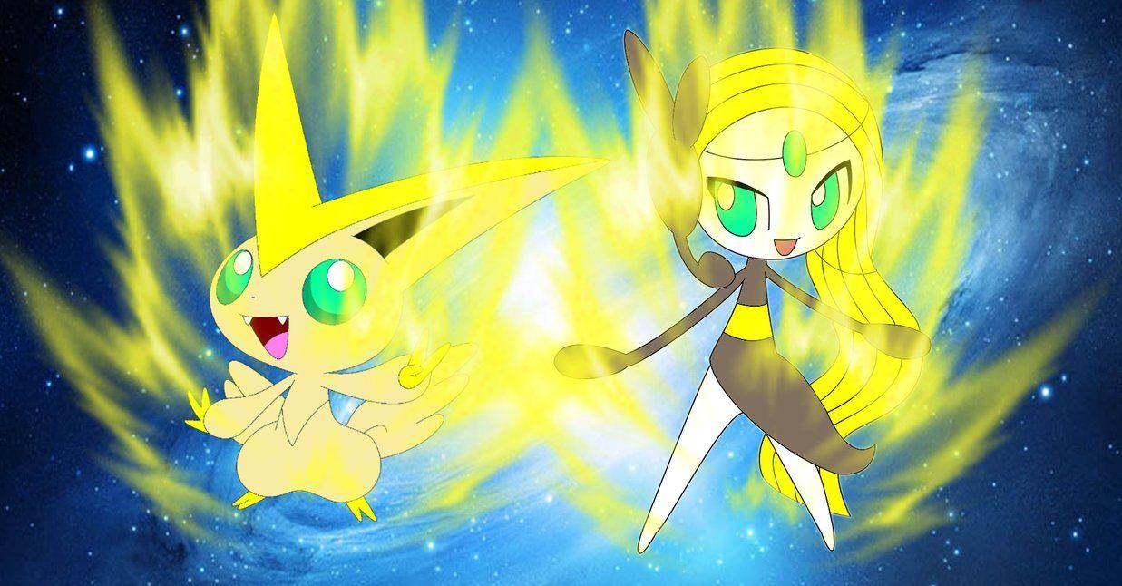 Super Meloetta and Super Victini wallpapers by RioluLucarioFan9000 on