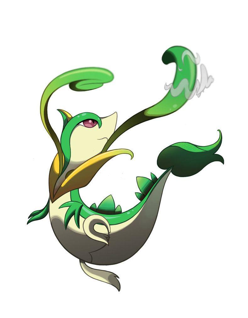 Images of Snivy Evolution Wallpaper - #SpaceHero
