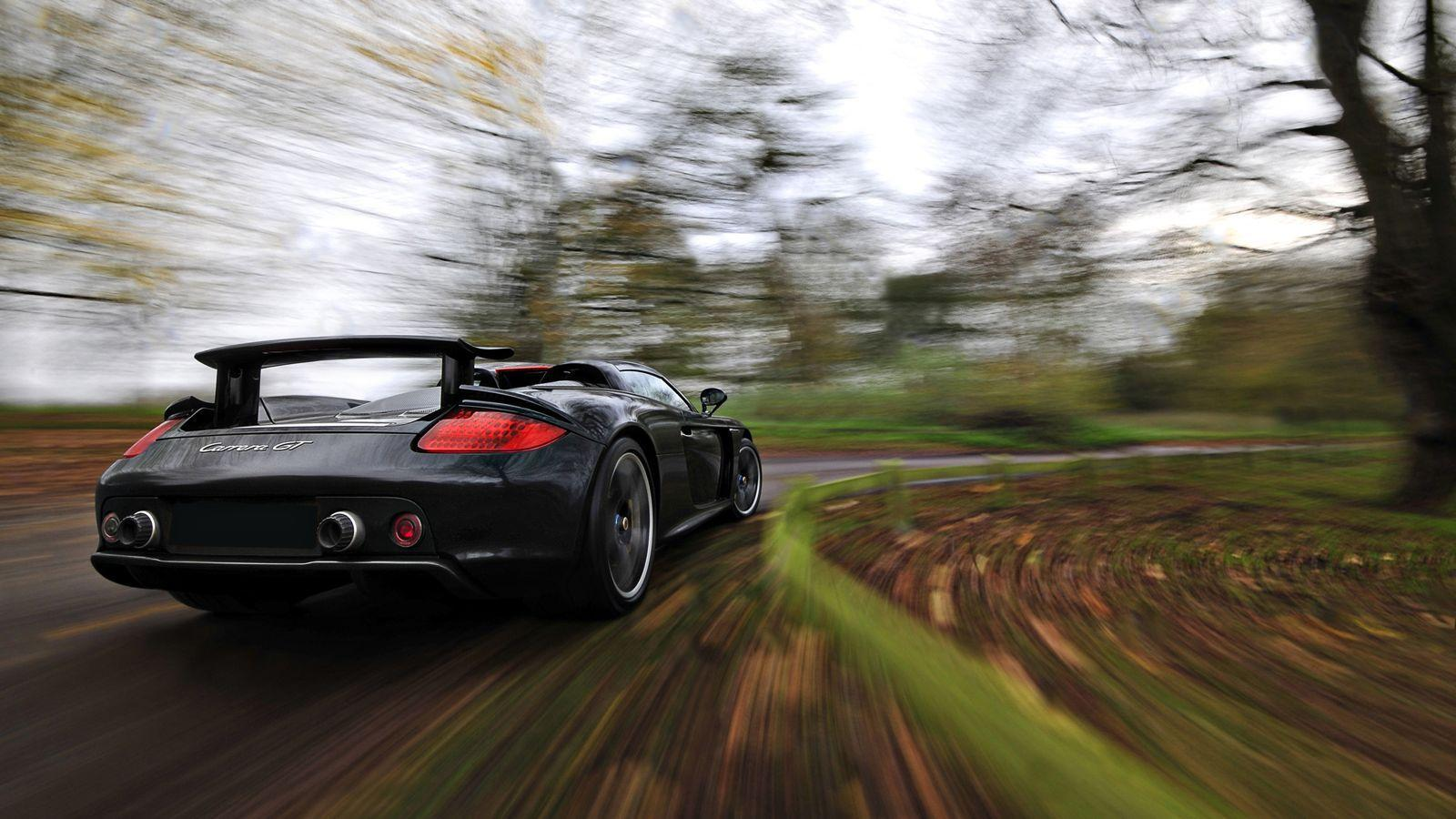 Your Ridiculously Cool Porsche Carrera GT Wallpapers Is Here