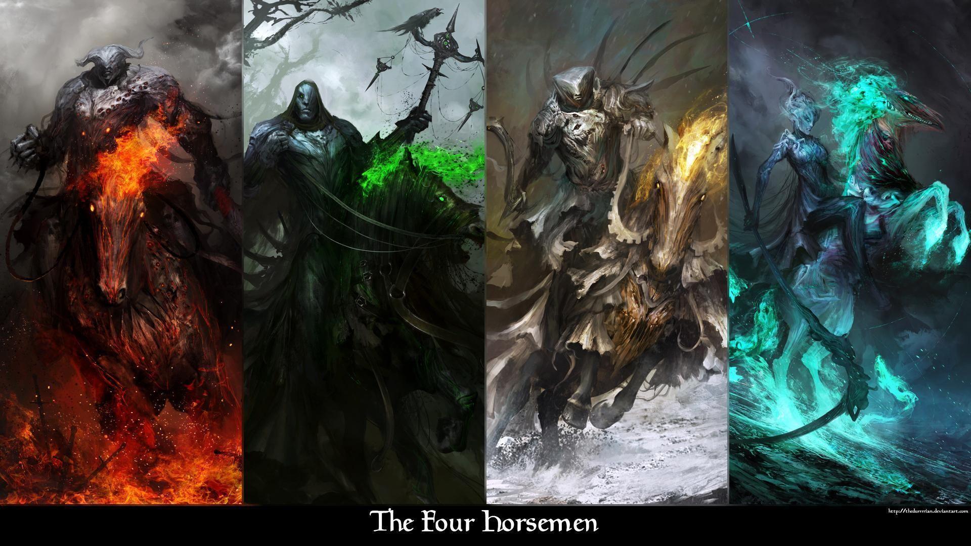Darksiders Wallpapers Four Horsemen Wallpaper Cave