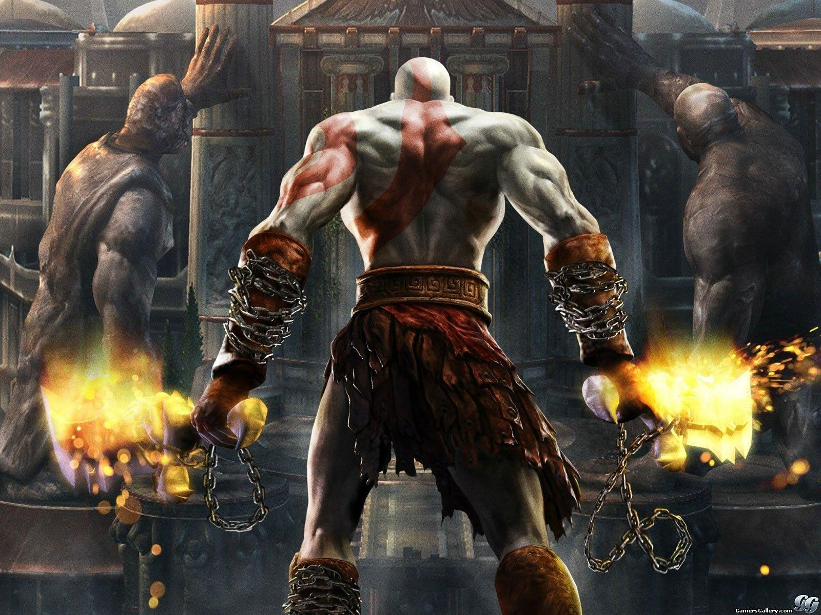 Kratos Back Wallpapers Wallpaper Cave