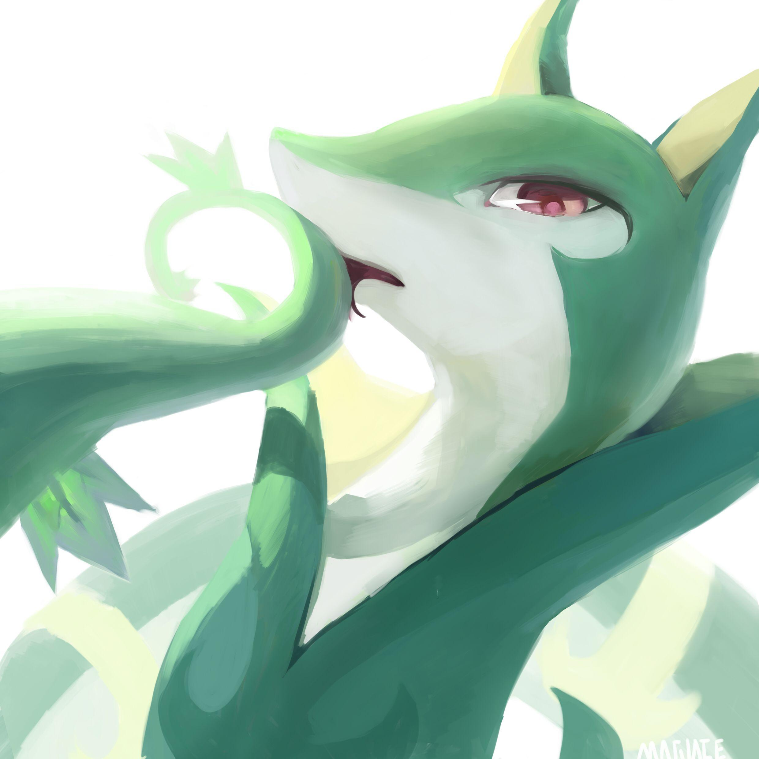 Serperior by Magiace