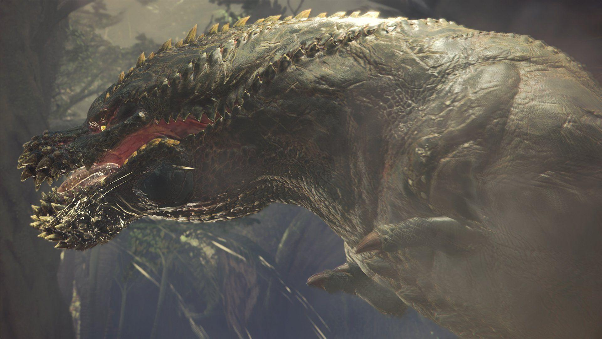 Monster Hunter World Deviljho Confirmed