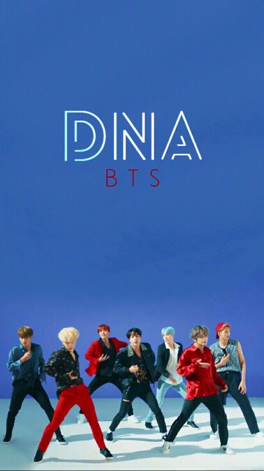 BTS DNA WALLPAPER Wallpaper