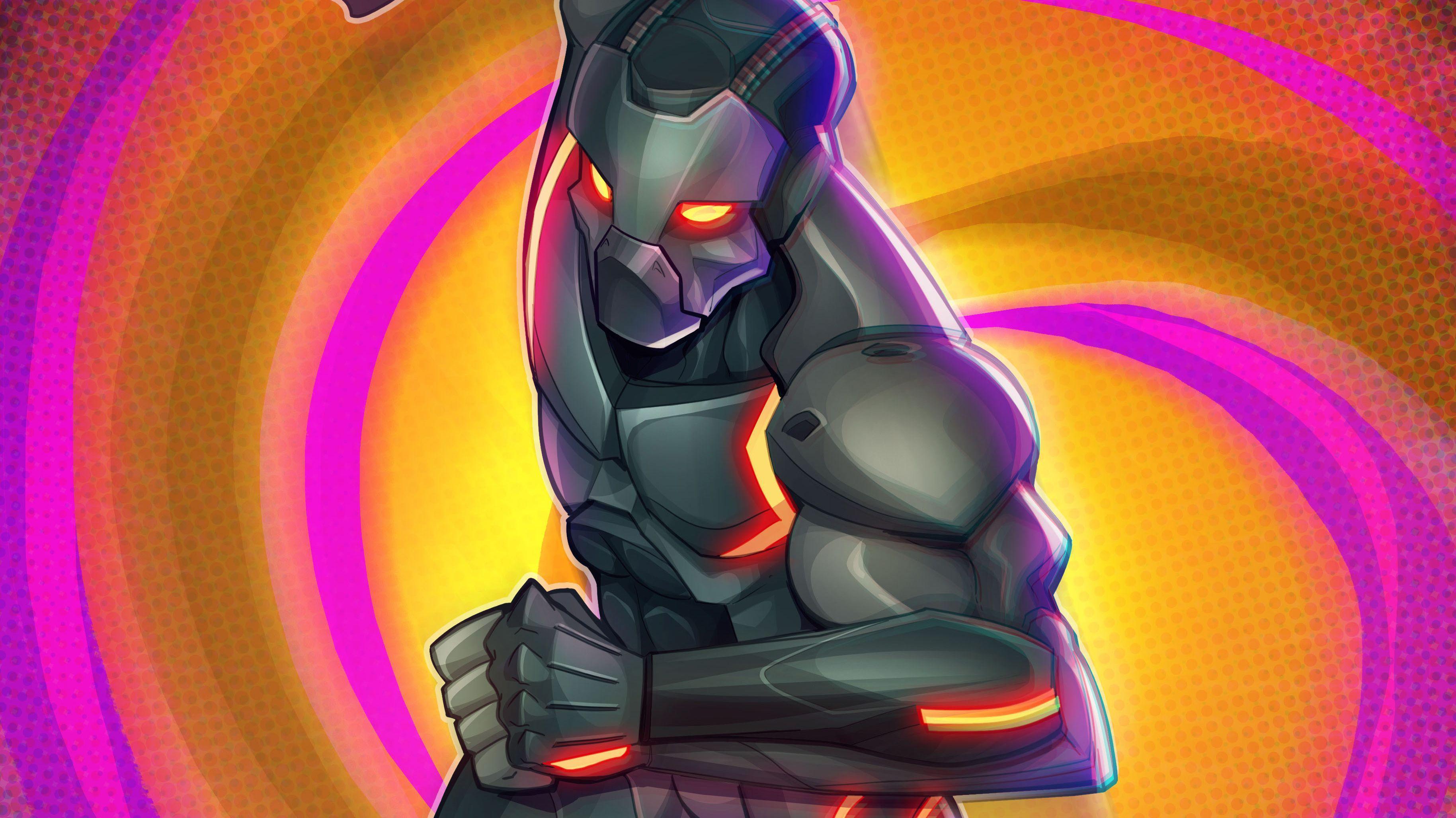 Fortnite Omega Fan Art, HD Games, 4k Wallpapers, Images, Backgrounds .