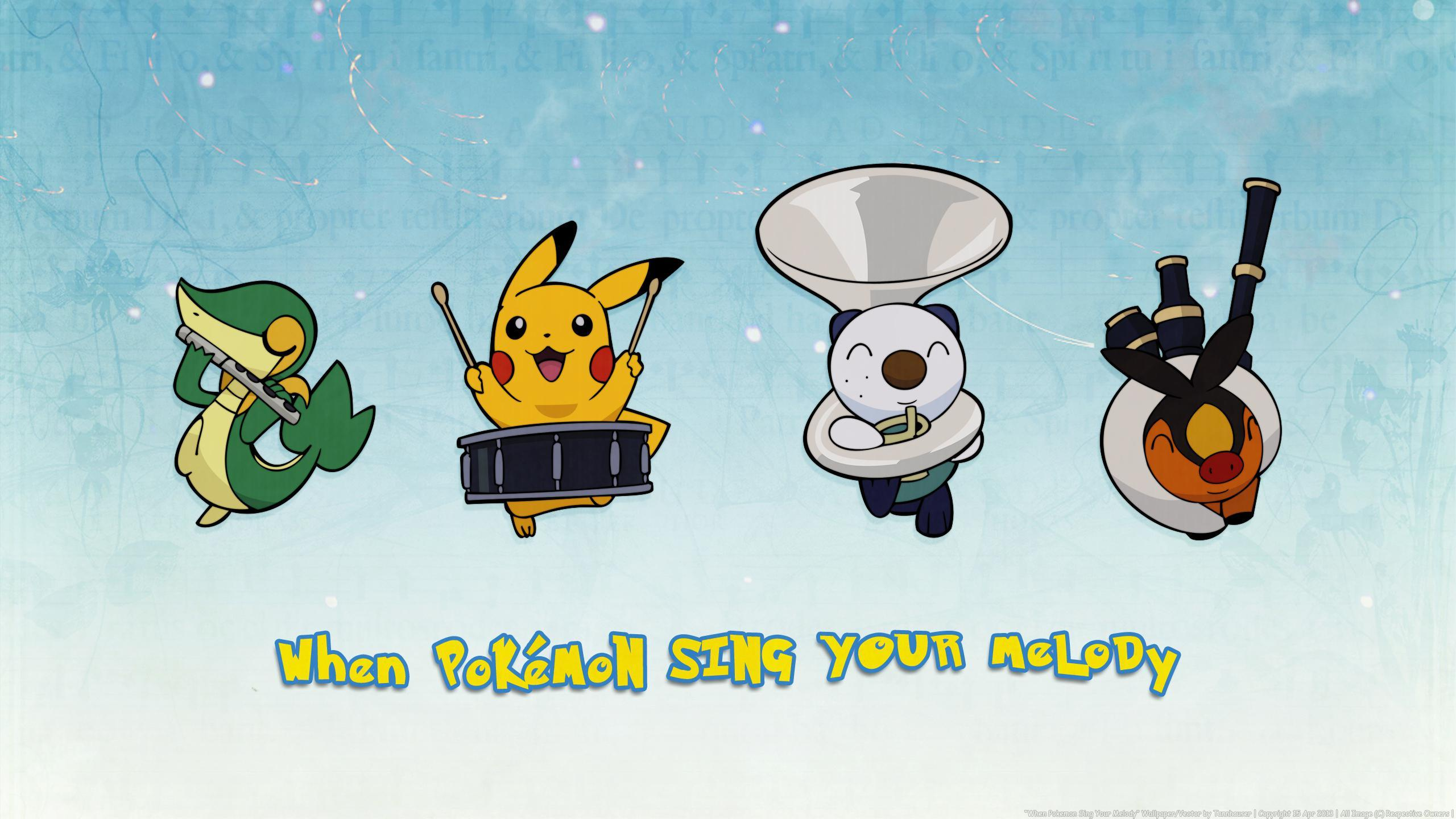 WHEN POKEMON SING YOUR MELODY WALLPAPER - (#94281) - HD Wallpapers ...