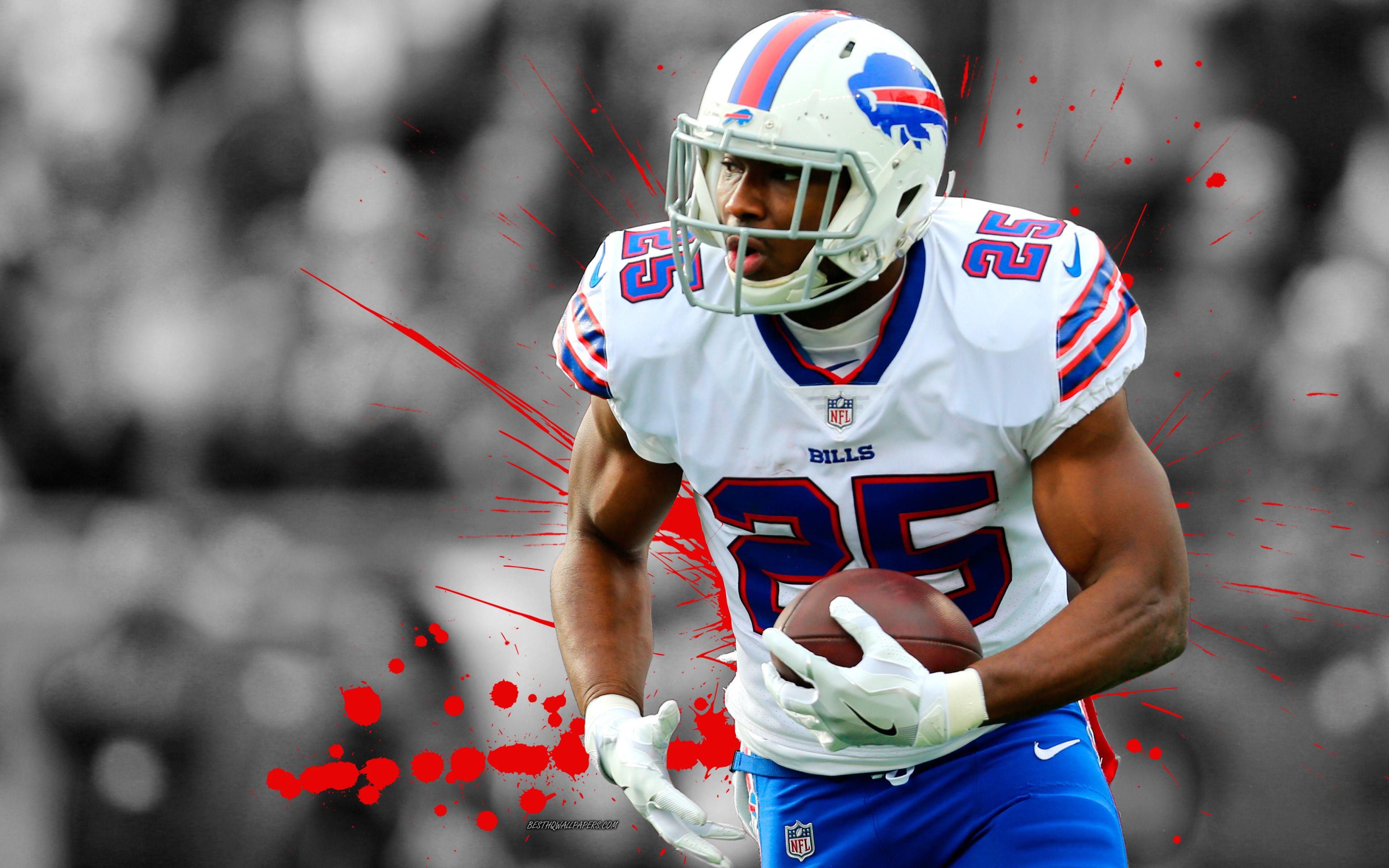 Download wallpapers LeSean McCoy, 4k, american football, Shady