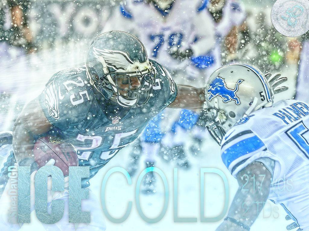 LeSean McCoy Snow