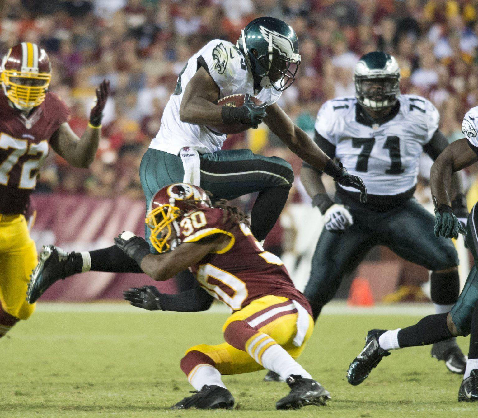 LeSean McCoy Touchdown: Eagles' RB Makes Washington Look Silly On 34