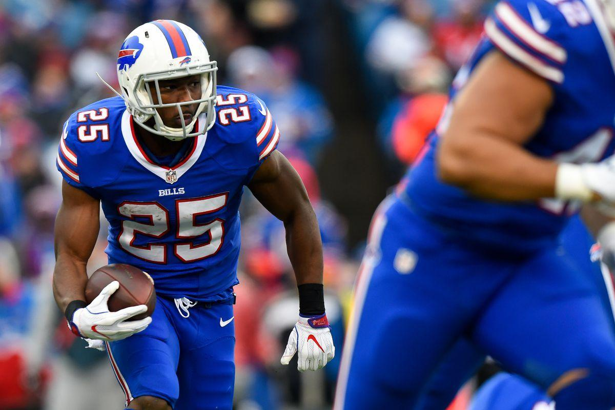 LeSean McCoy possible to return vs. Jets with an ankle injury