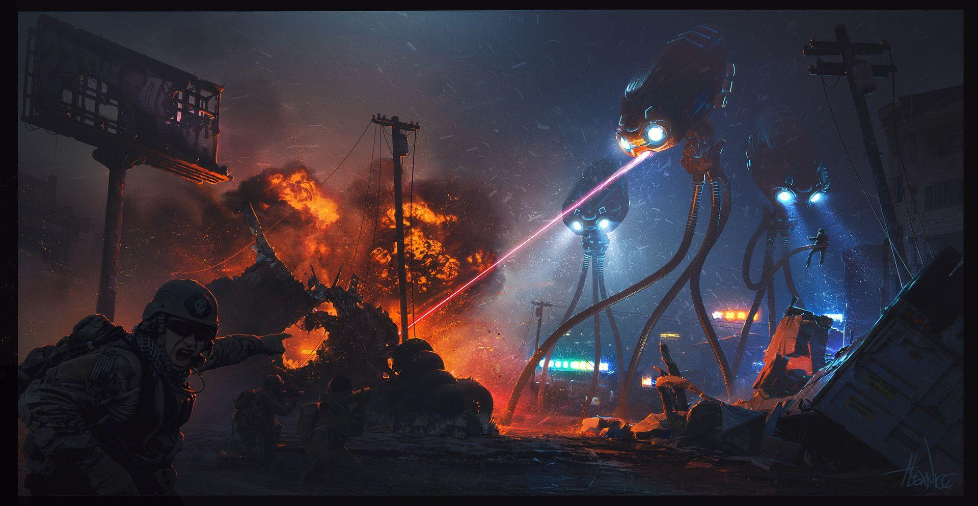 War Of The Worlds Wallpapers Wallpaper Cave
