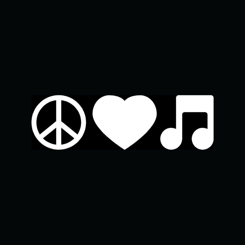 Peace Love Music Wallpapers Wallpaper Cave