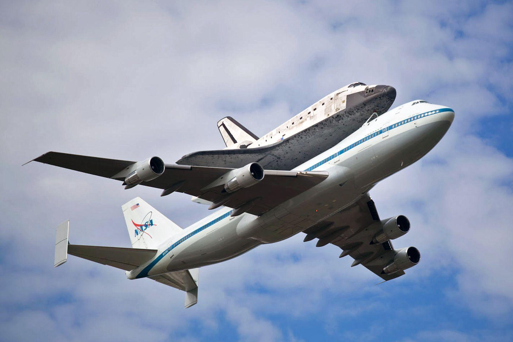 Inside the Space Shuttle Carrier Aircraft – National Geographic Blog