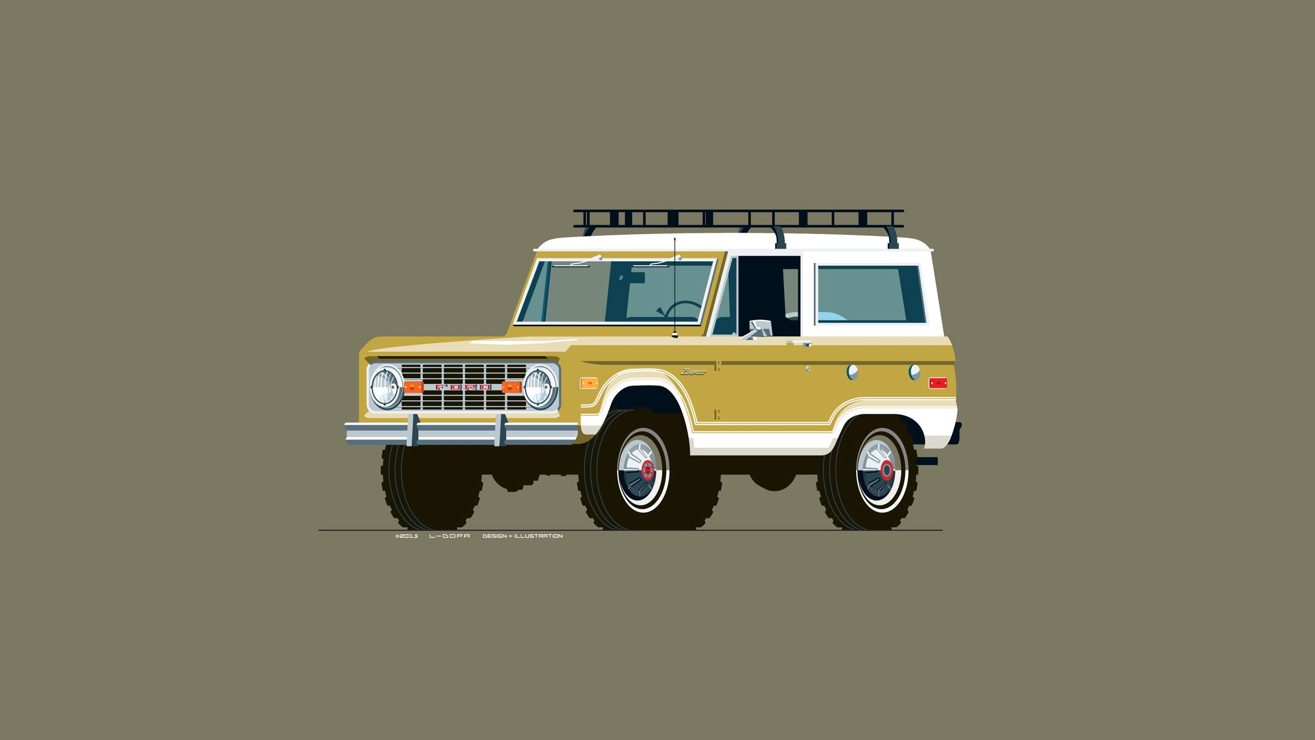 Ford Bronco Wallpapers 24 - 2560 X 1440 | stmed.net