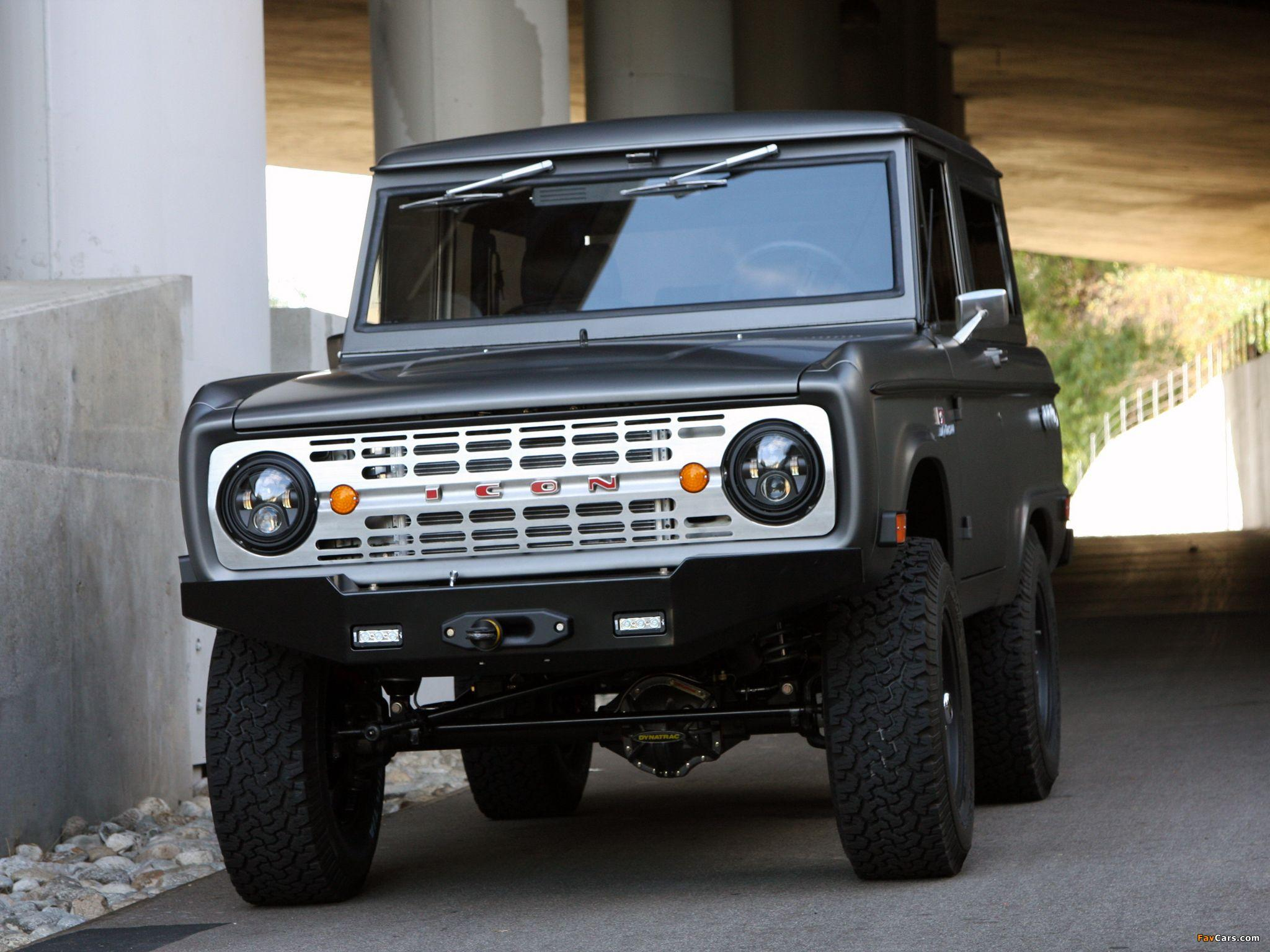 ICON Ford Bronco 2011 wallpapers (2048x1536)