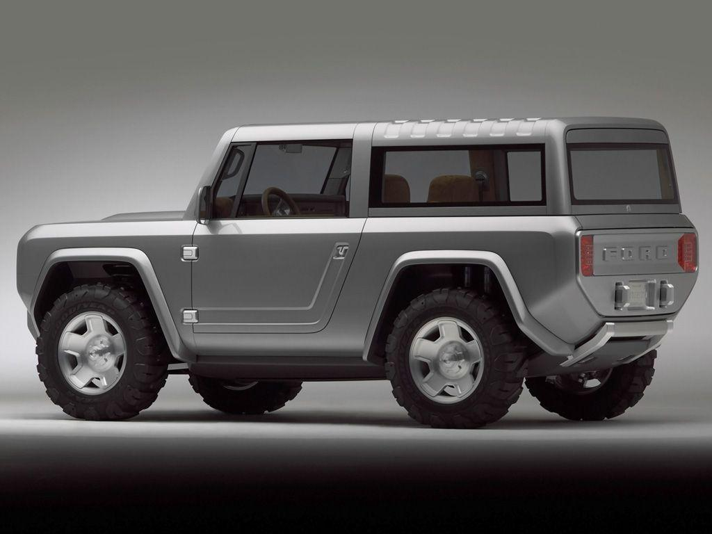 2004 Ford Bronco Concept Wallpaper and Image Gallery