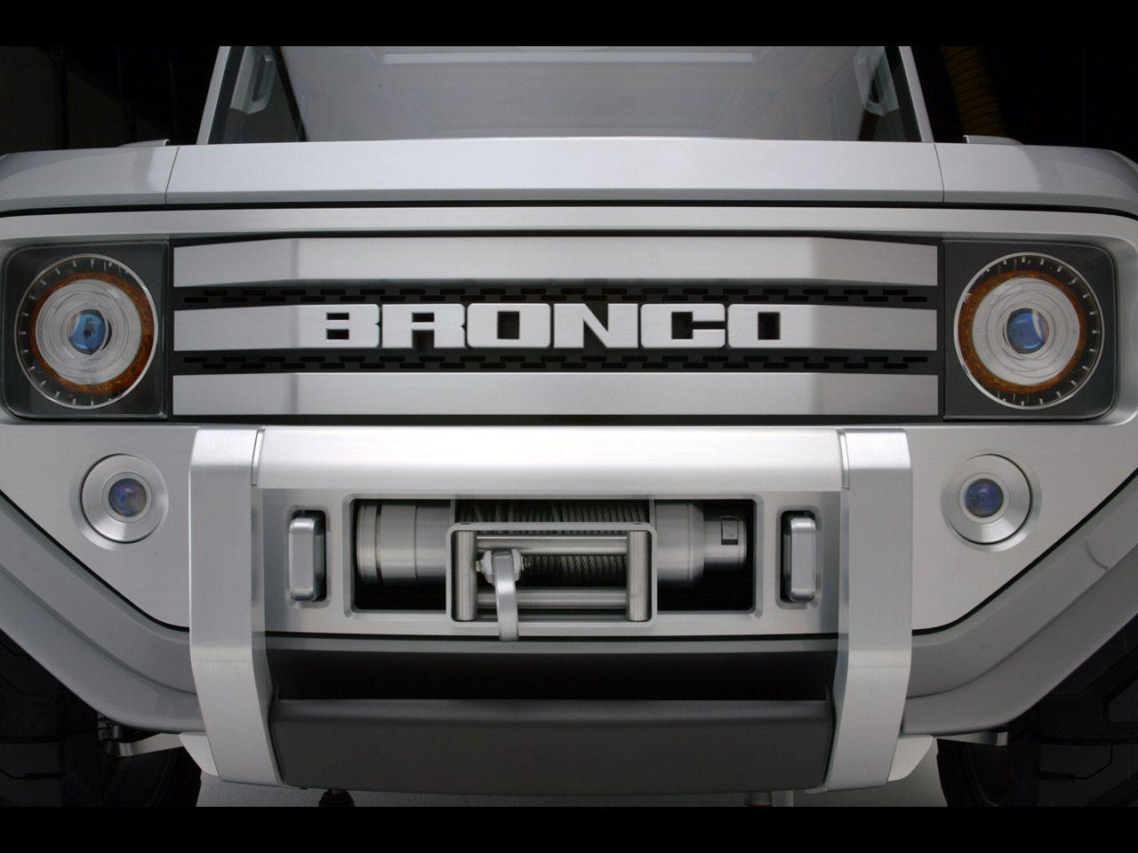 2004 Ford Bronco Concept - Grille - 1280x960 Wallpaper