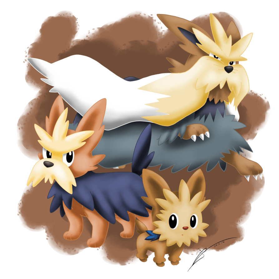 Lillipup's Family by DarkraiLady