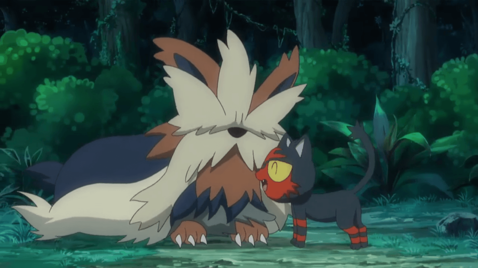 Image - Stoutland and Litten.png | PokéFanon | FANDOM powered by Wikia
