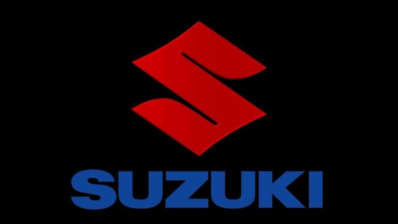 90 Suzuki Logo Wallpaper