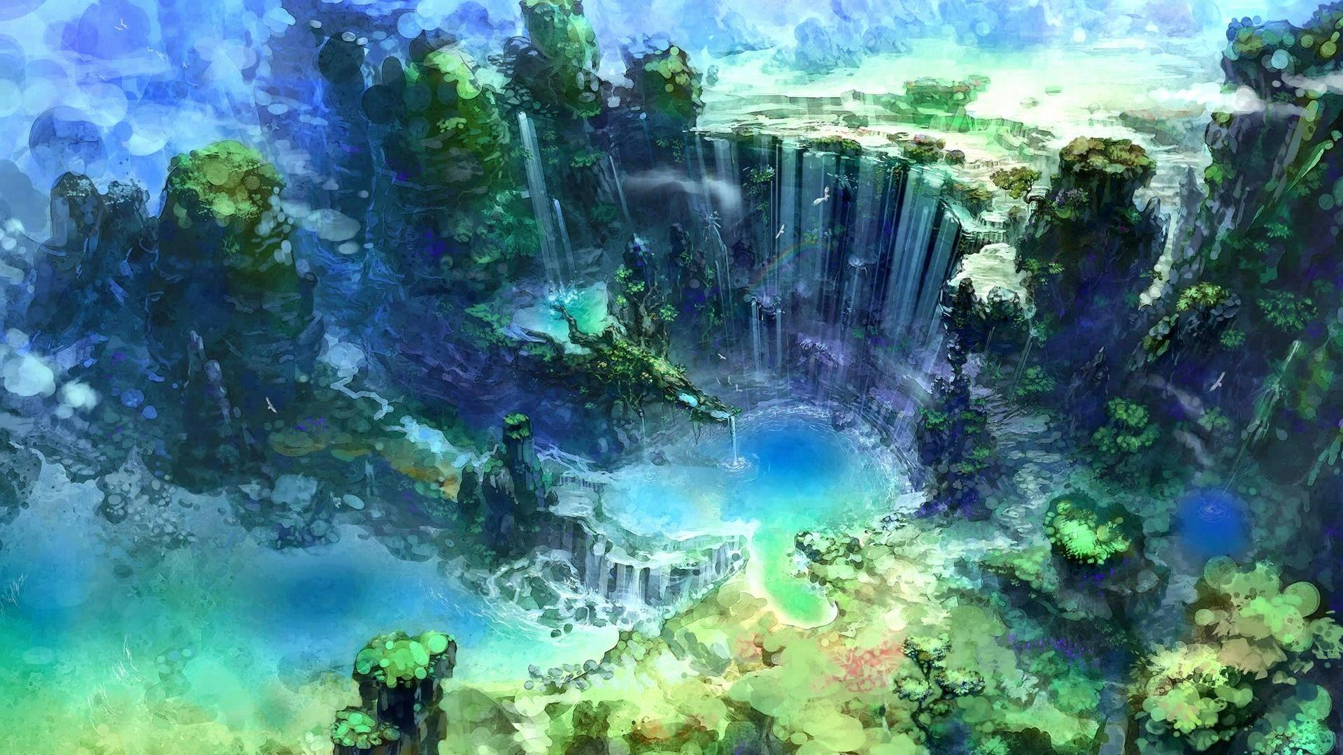 Download 610 Koleksi Wallpaper Hd Anime Nature Gratis Terbaru