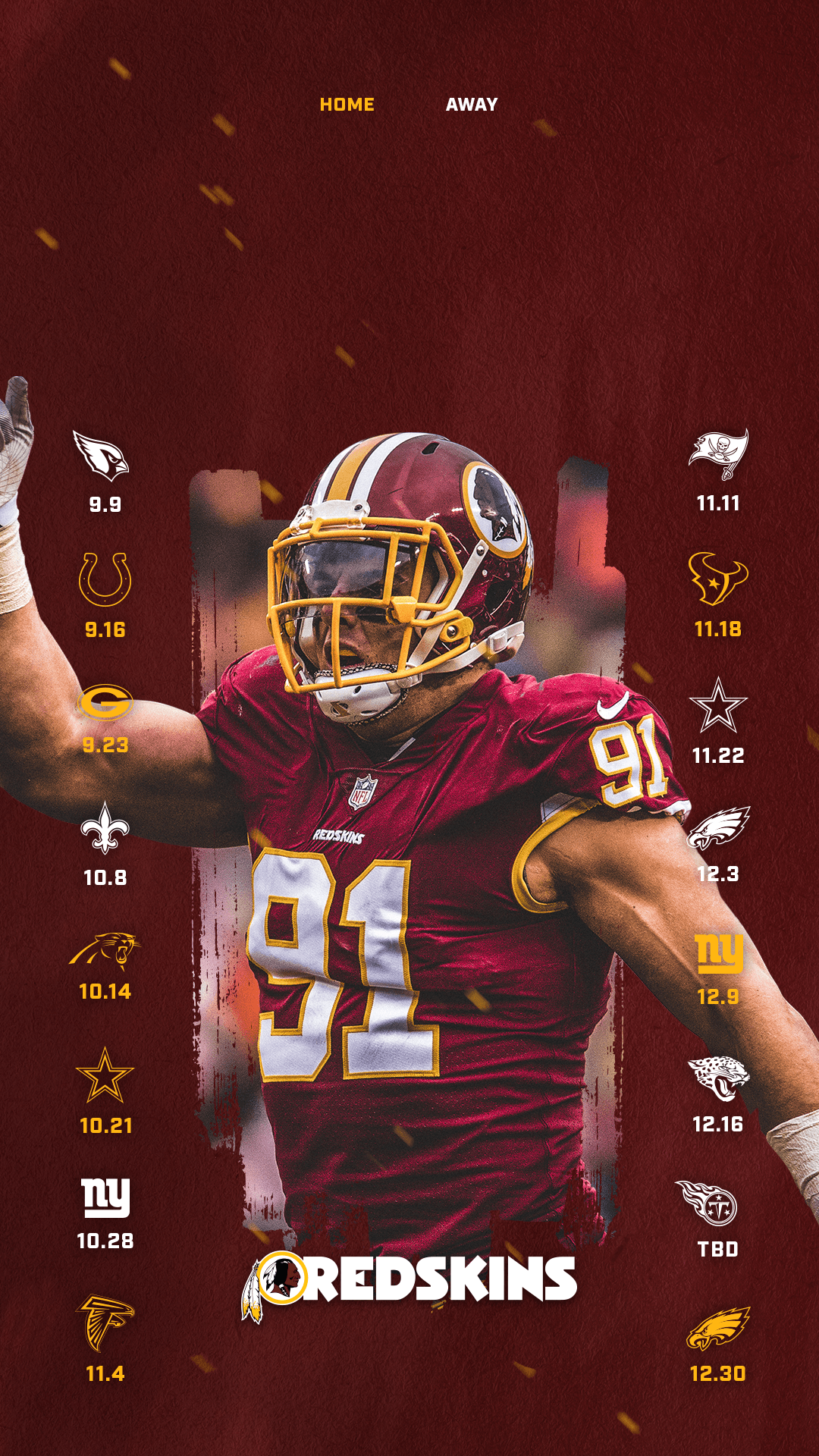 Washington Redskins 2018 Wallpapers Wallpaper Cave