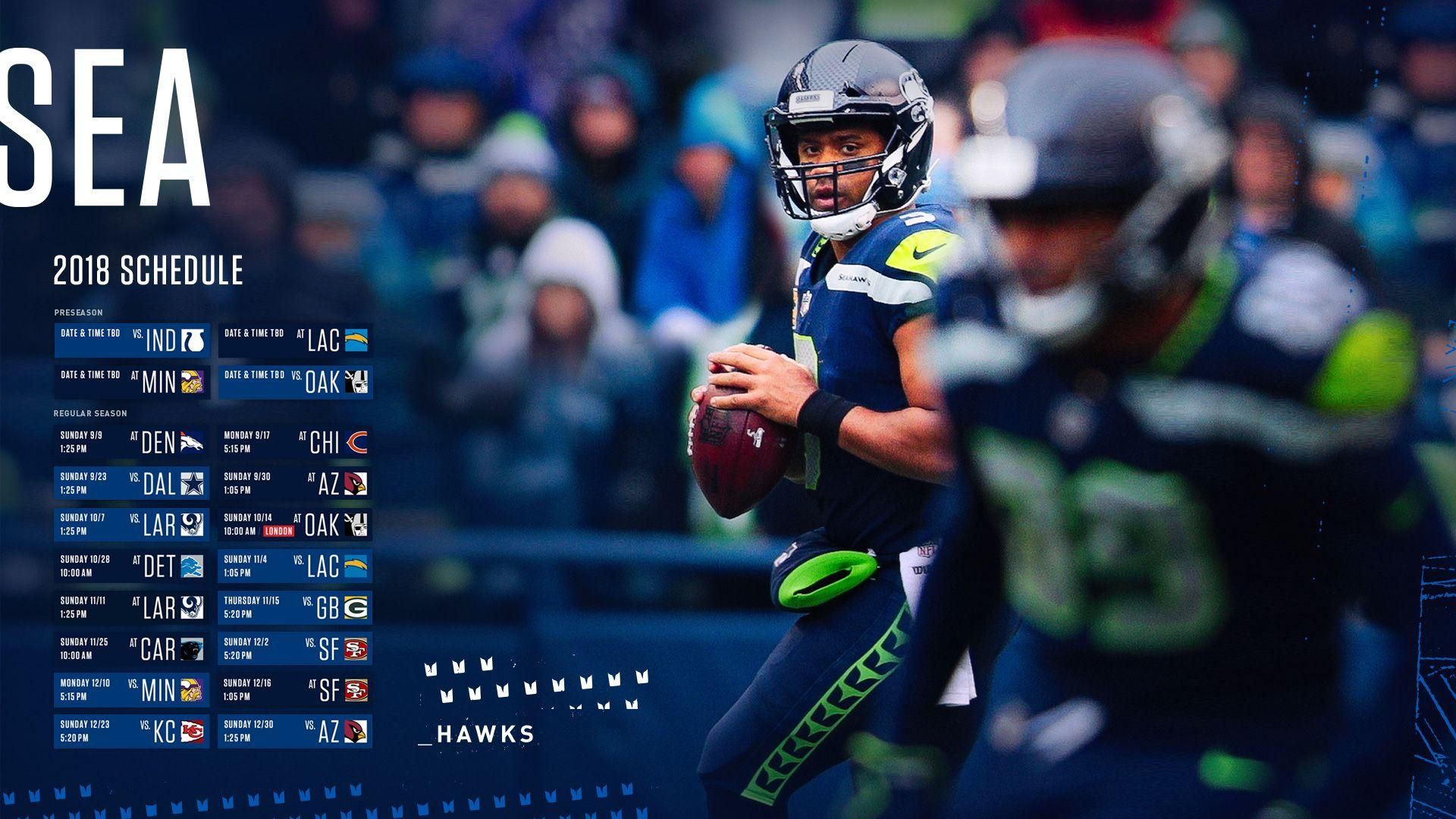 Seattle Seahawks 2018 Wallpapers Wallpaper Cave