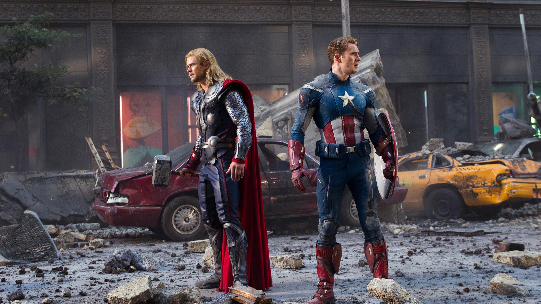 Captain America Mjolnir Wallpapers Wallpaper Cave