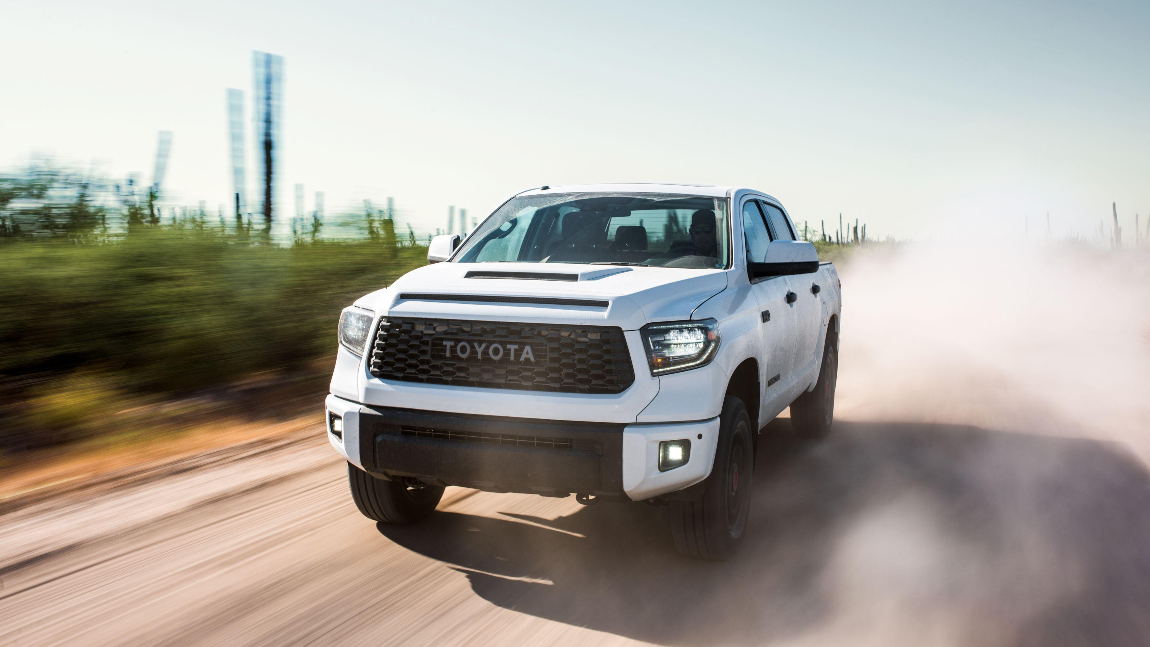 2019 Toyota Tundra TRD Pro CrewMax 4K Wallpapers