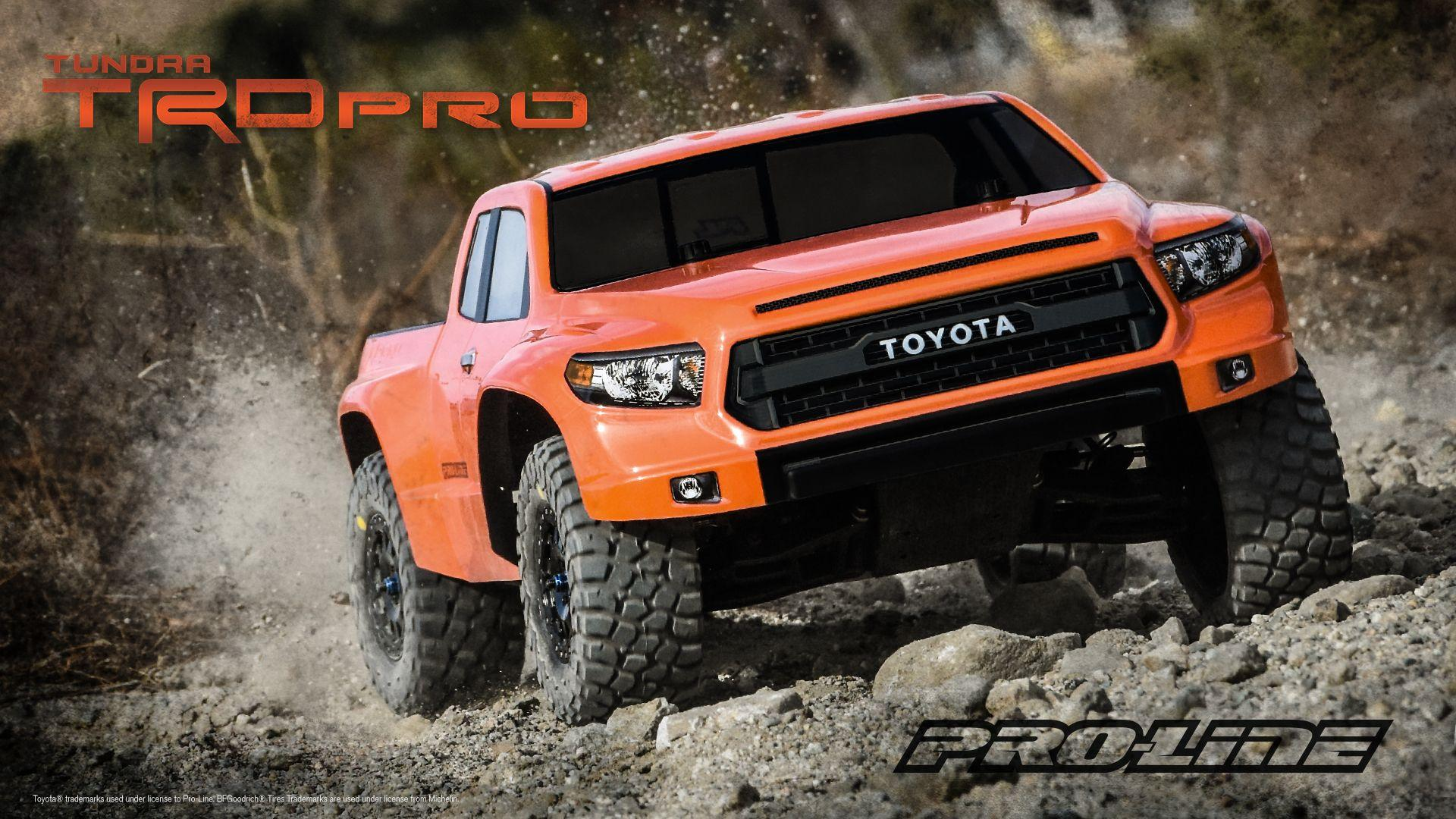 Pro-Line Toyota Tundra True Scale Wallpaper – Download Now! | Pro ...