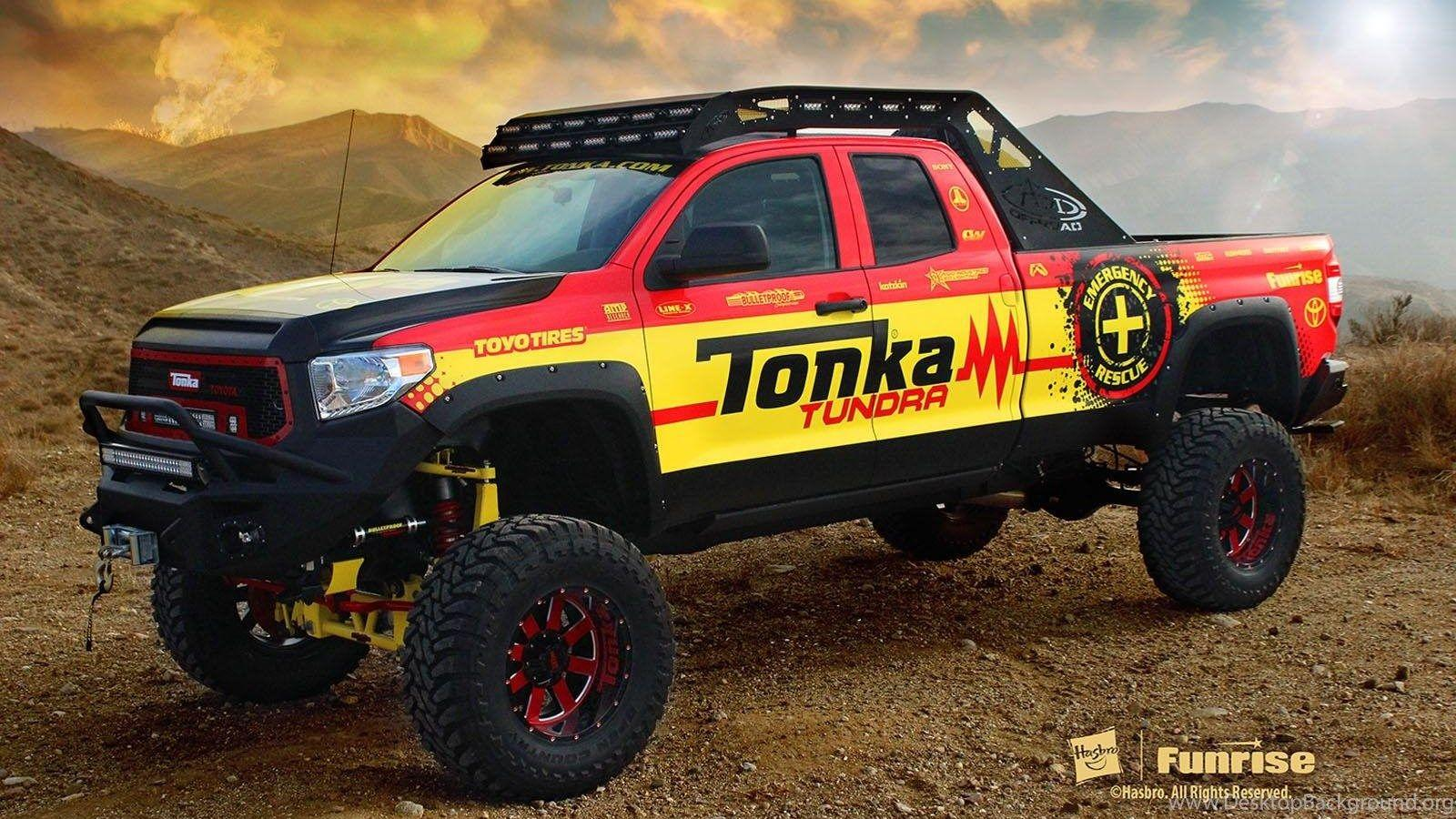 2014 Toyota Tundra Monster Trucks Desktop Wallpapers Desktop Backgrounds