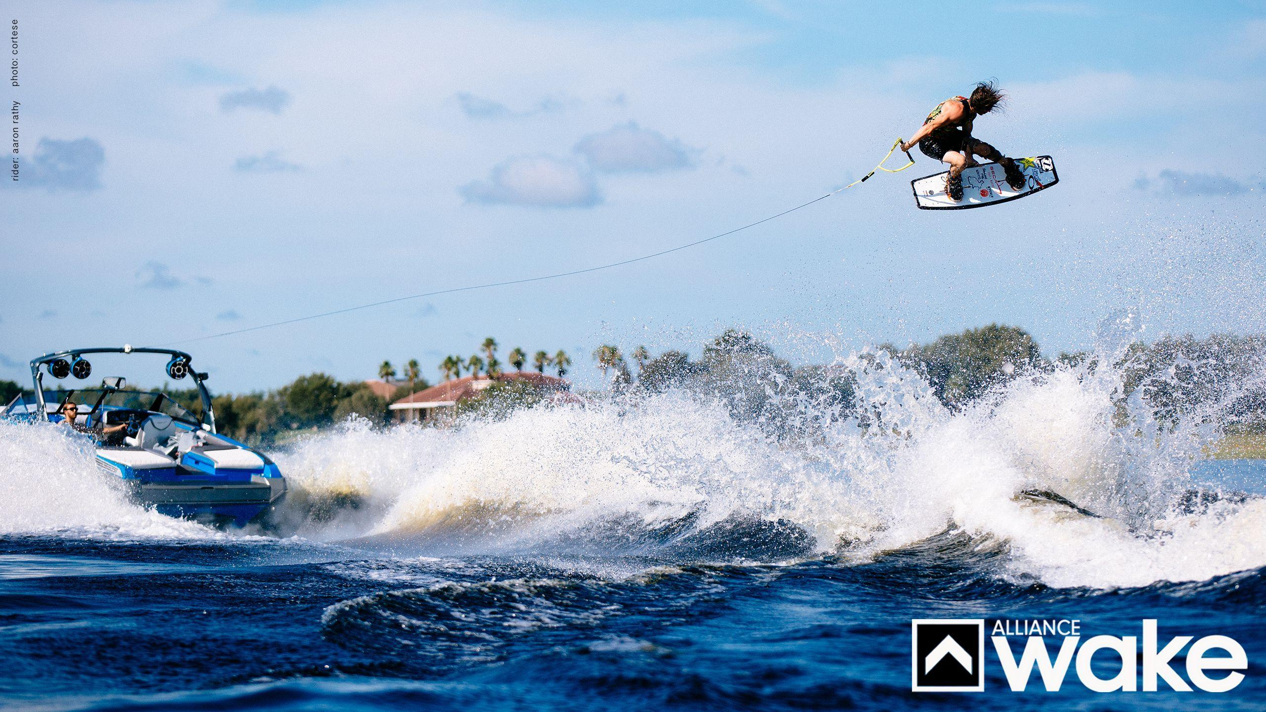 Wallpapers: Silhouette 2560×1440 Wakeboard Wallpapers