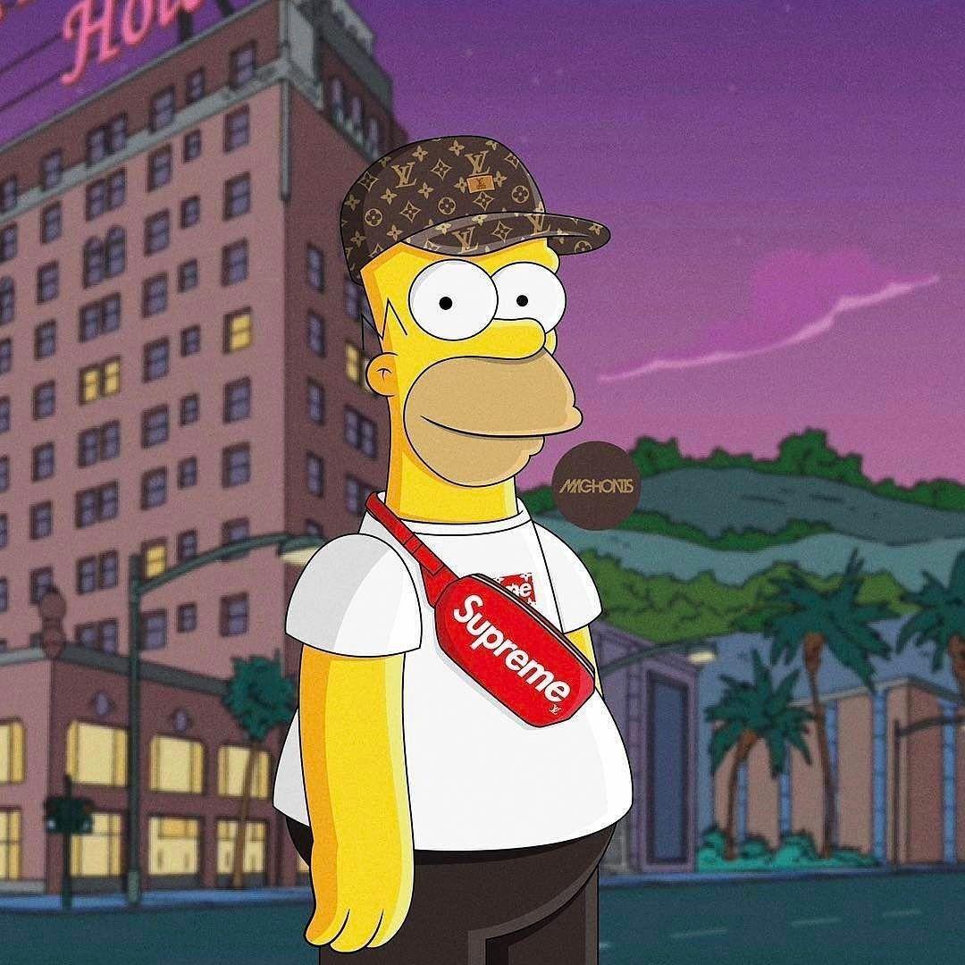 Bart Simpson Supreme Wallpapers - Wallpaper Cave