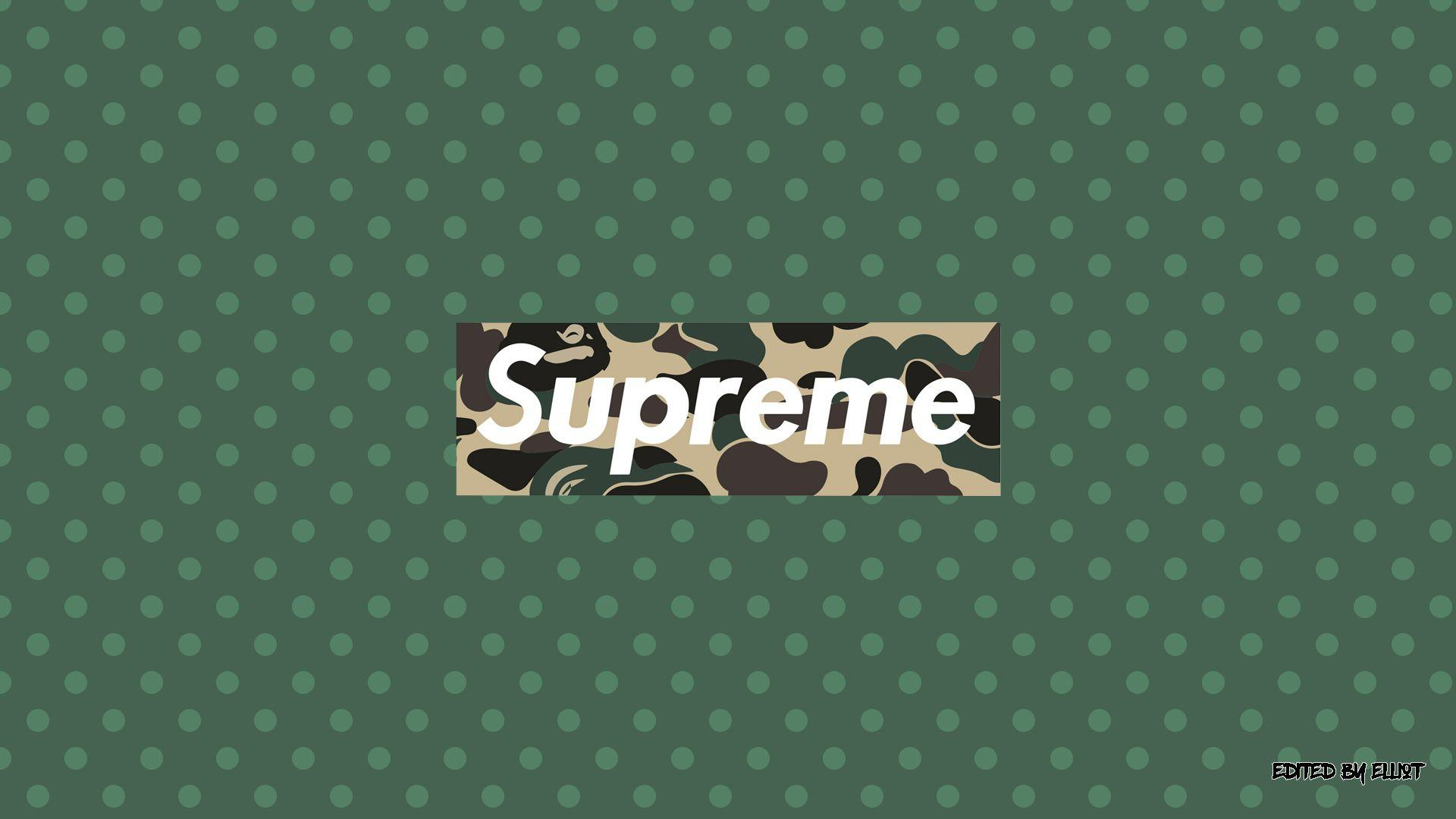 Supreme Bape Wallpapers Wallpaper Cave