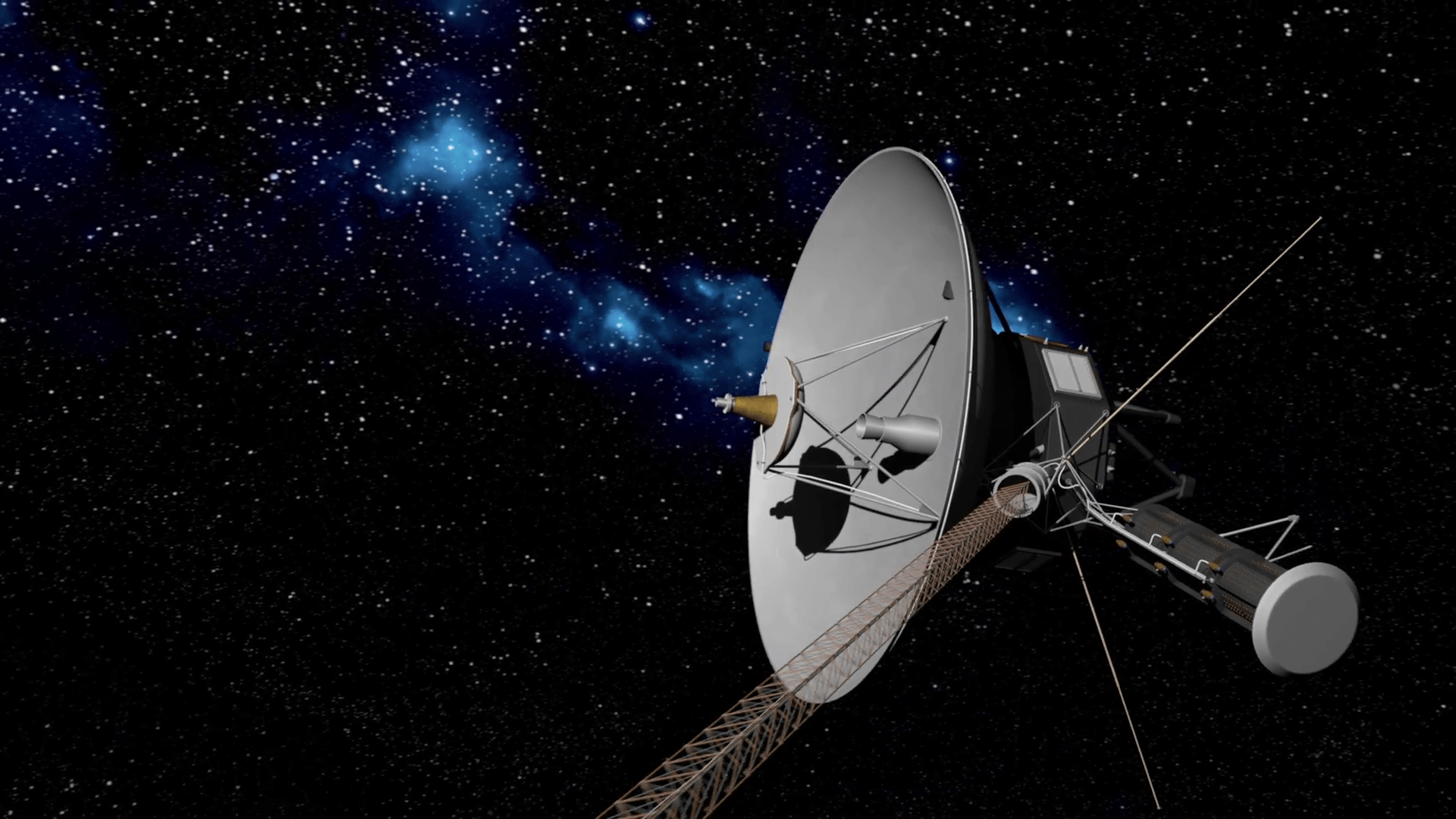 Image of Voyager 1 Space Probe Information