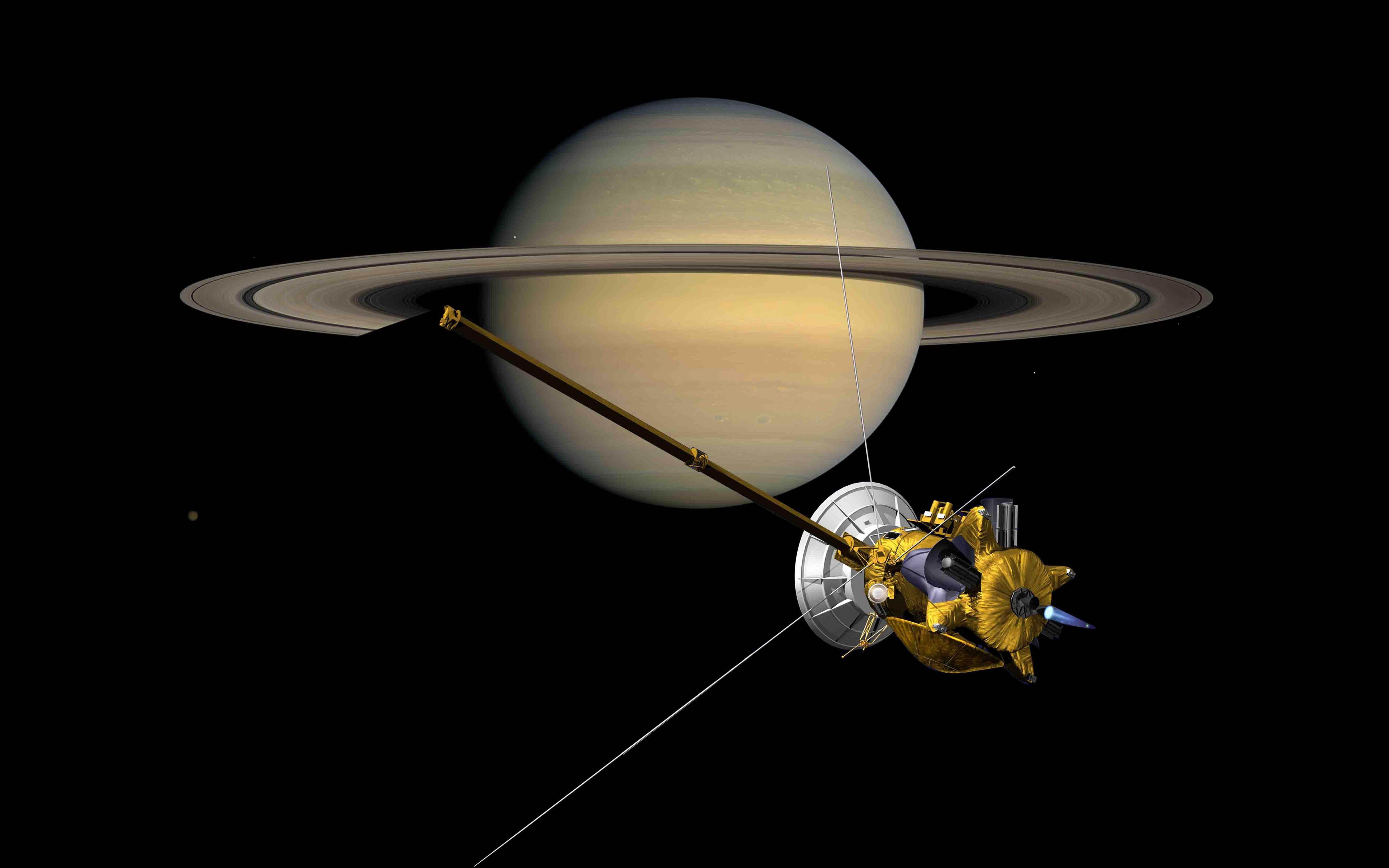 serie nasas cassini spacecraft - HD4613×3600