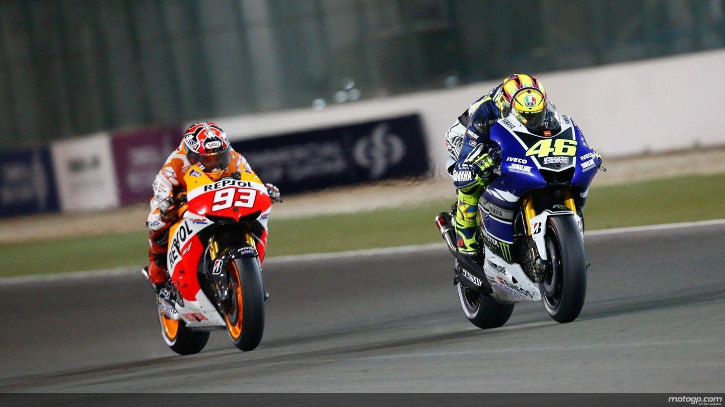 Valentino Rossi And Marc Marquez Wallpapers Wallpaper Cave
