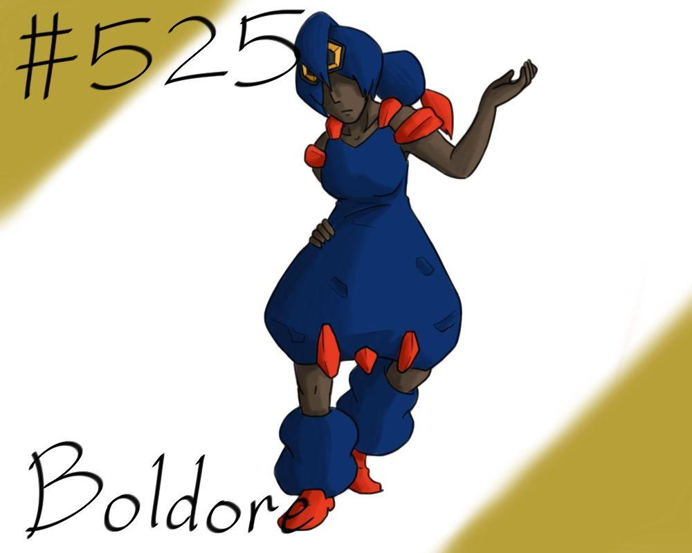 Pokemon Gijinka Project 525 Boldore by JinchuurikiHunter on DeviantArt