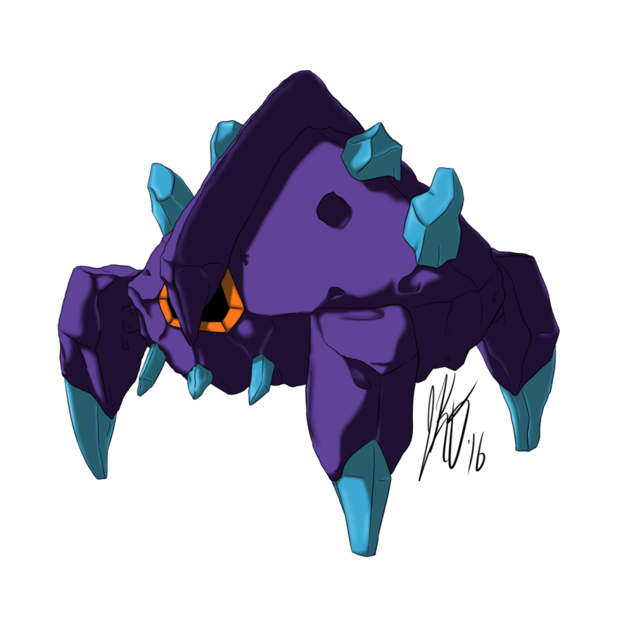 525: Shiny Boldore [Rock Type Collab] by HigureGinhane on DeviantArt