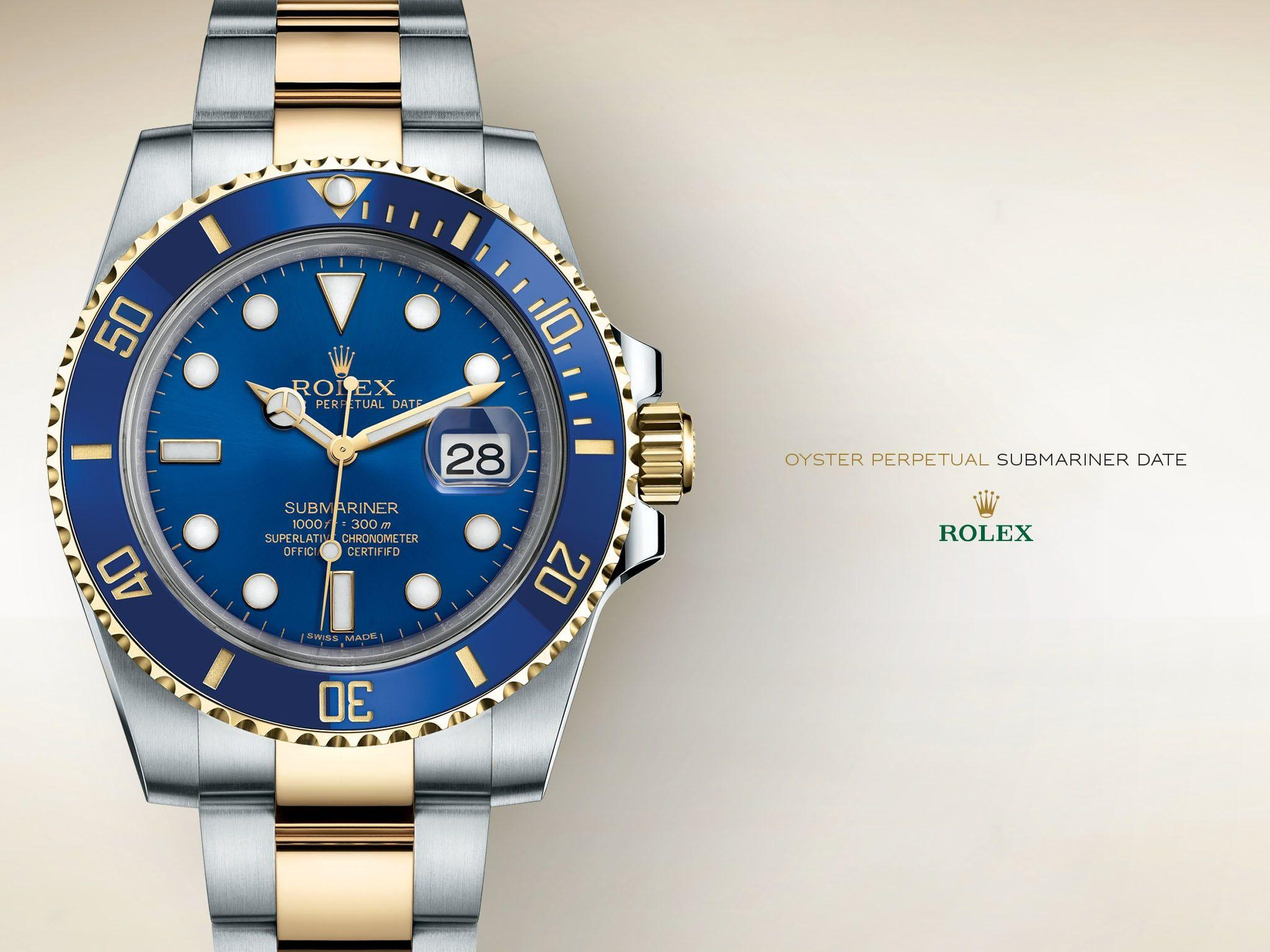 Ice Blue Dial Rolex Wallpapers