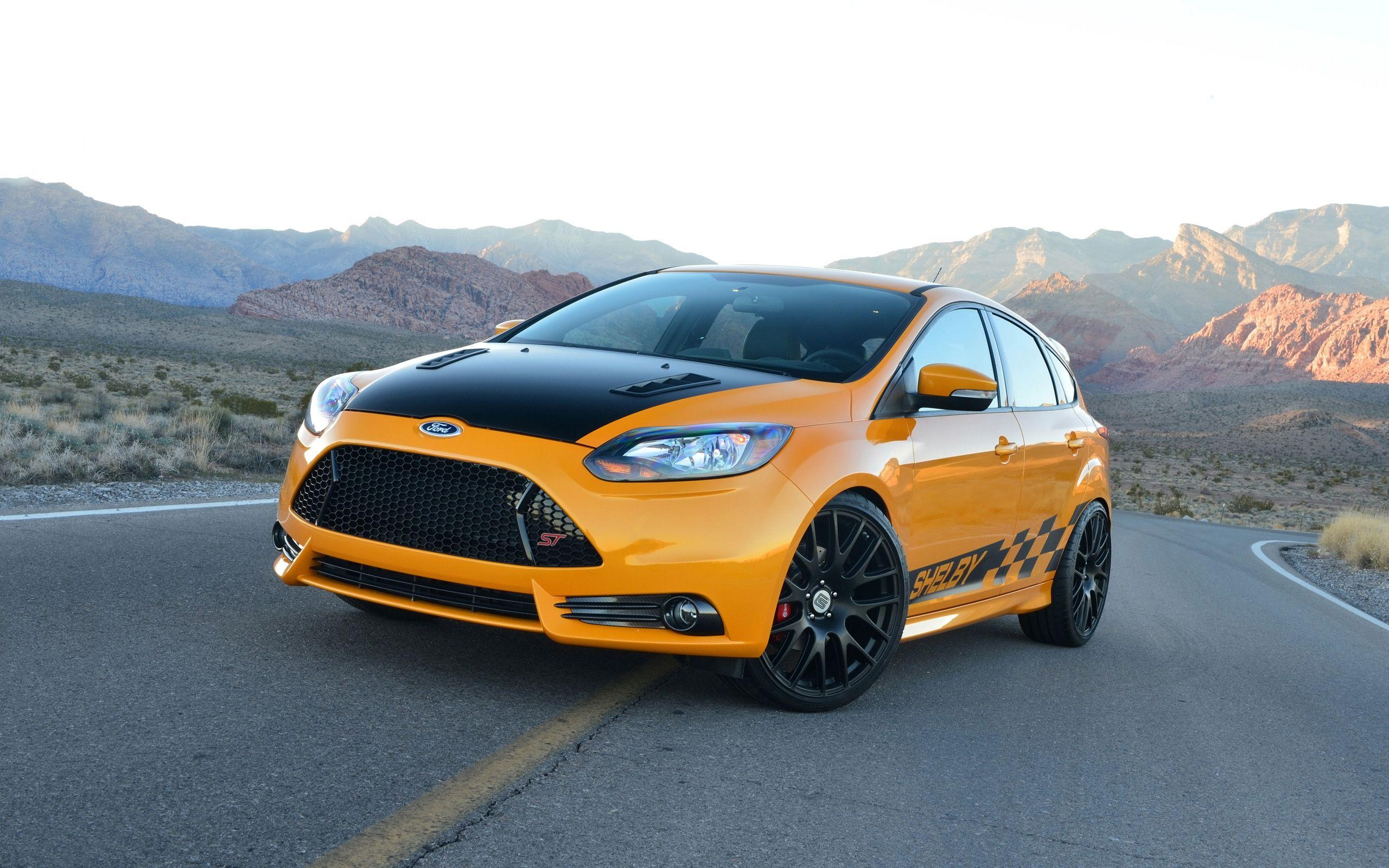 2014 Shelby Ford Focus ST Wallpapers