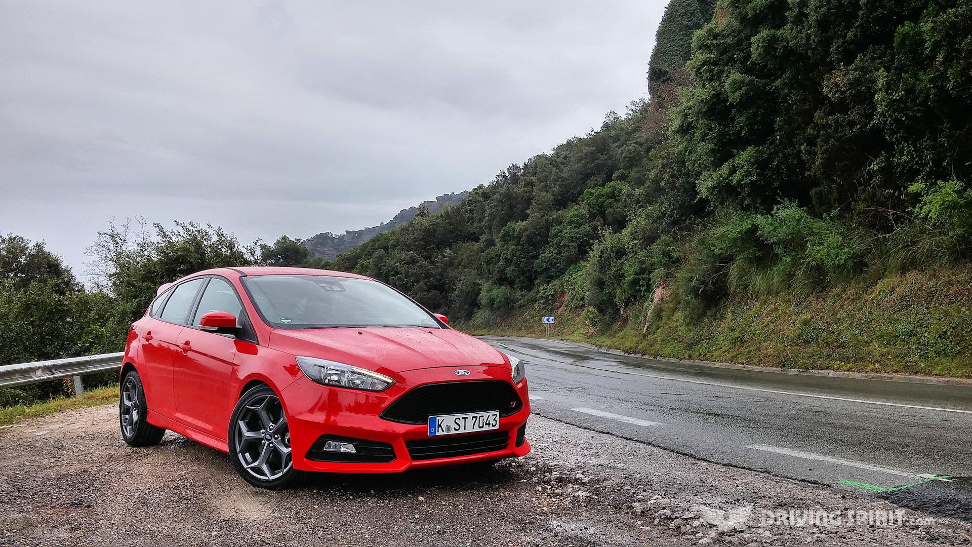 Red 2015 Ford Focus St Wallpapers Car Pictures Website