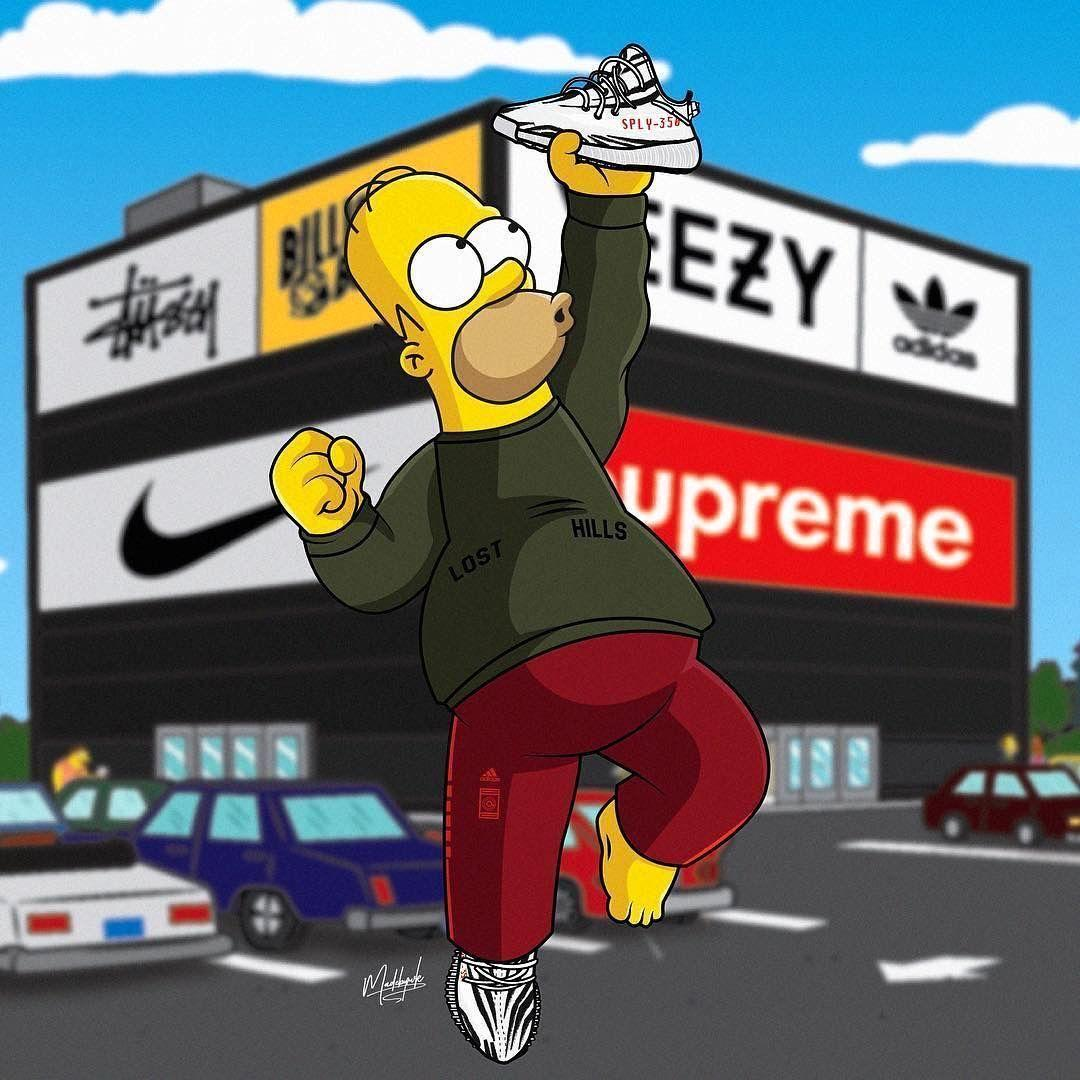 Bart Simpson Funny Supreme Wallpapers 3d Android Wallpaper