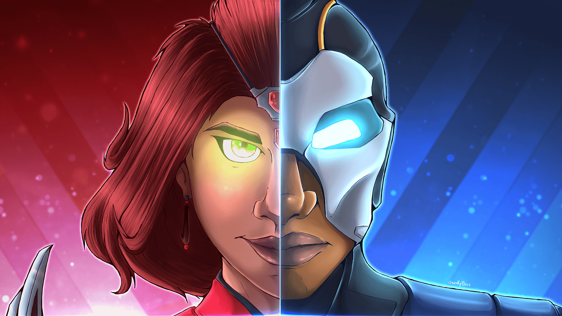 Wanted To Make A Split Series For Fortnite Skins! Valor and Carbide ...