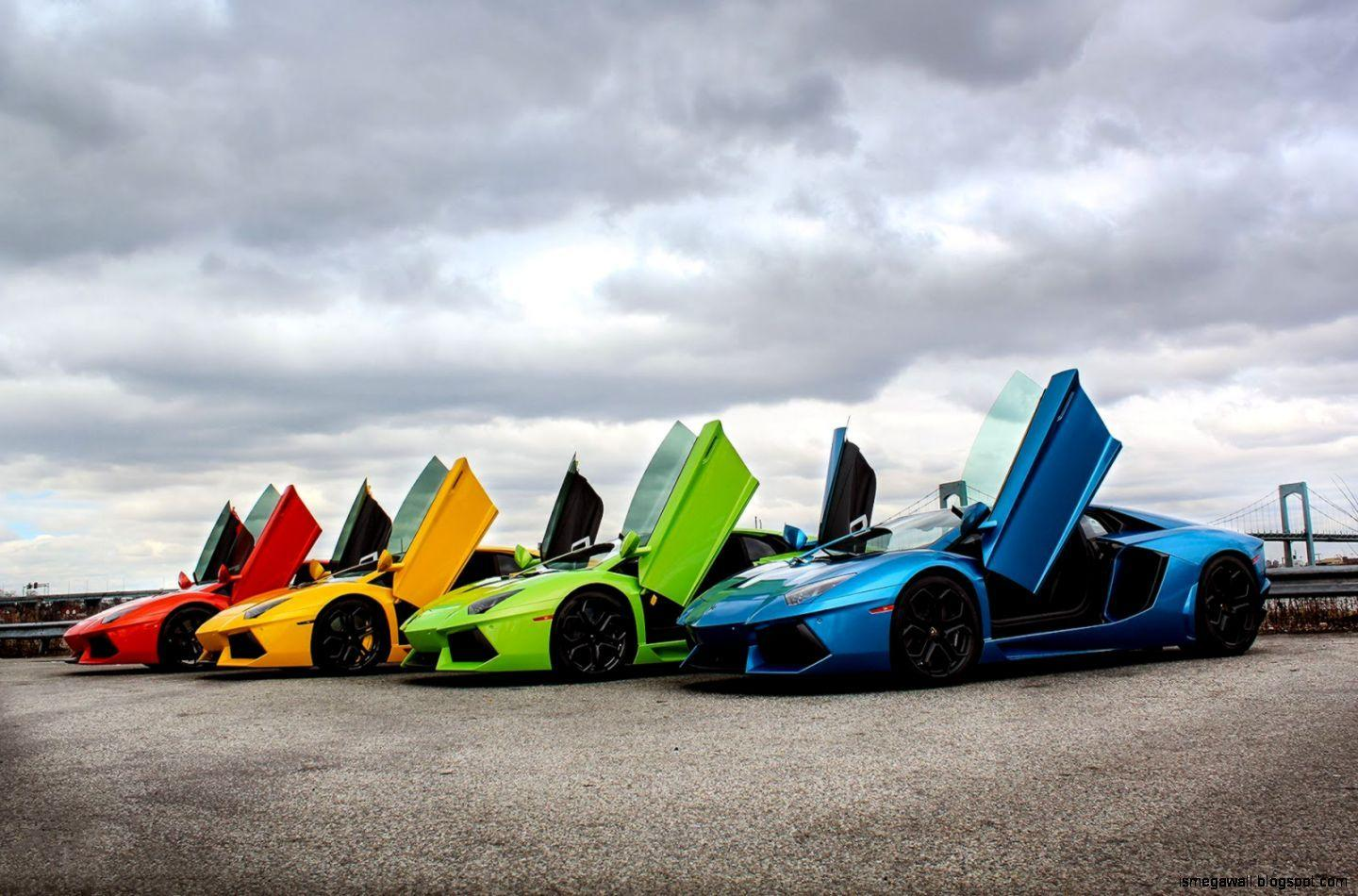 Rainbow Lamborghini Wallpapers Wallpaper Cave