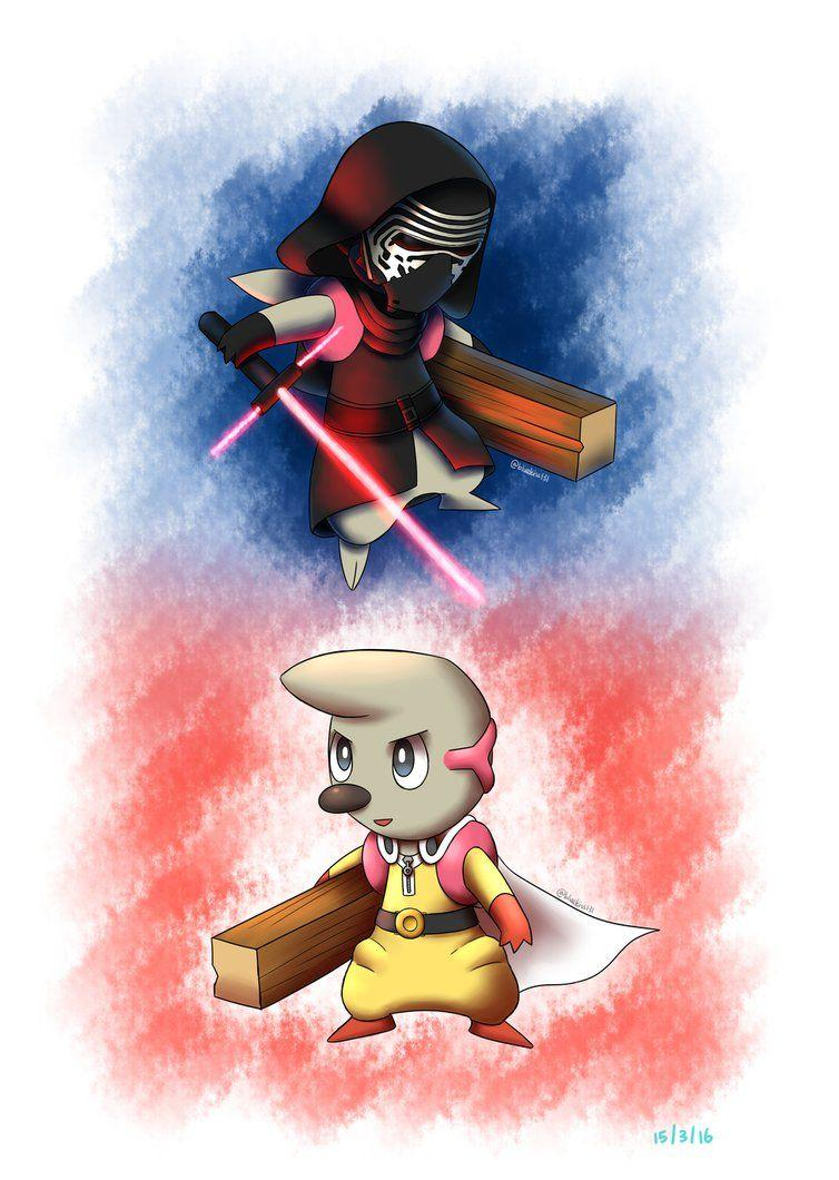 Kylo Timburr or Timburr Ren and One Punch Timburr by BluuKiss on ...